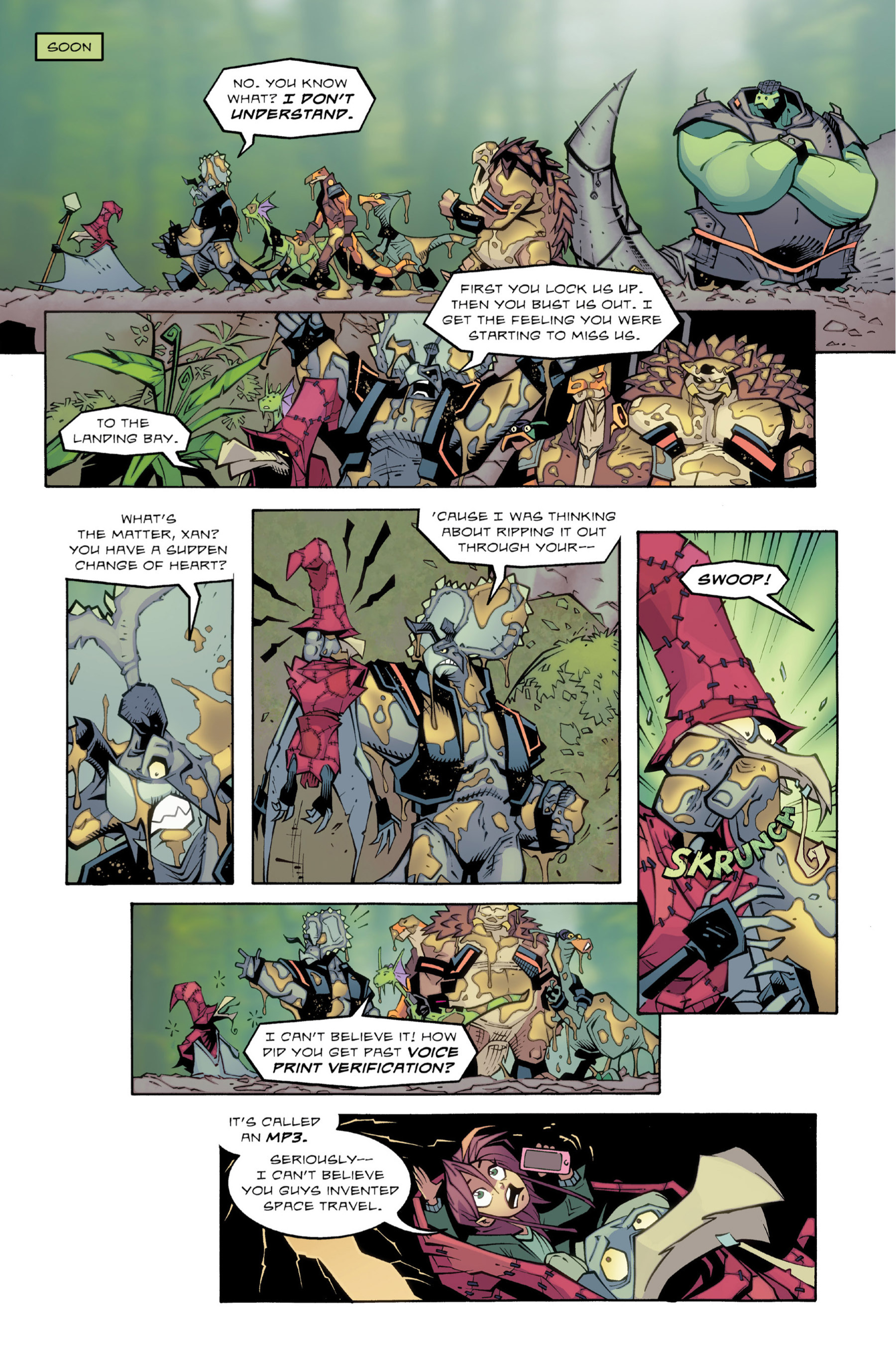 Read online Rexodus comic -  Issue # Full - 72