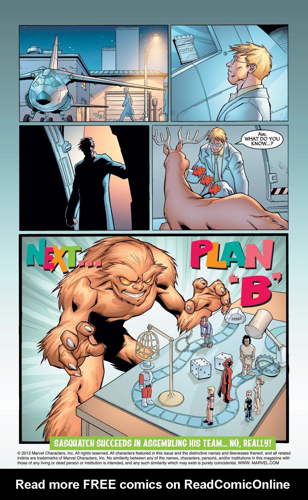 Read online Alpha Flight (2004) comic -  Issue #1 - 21