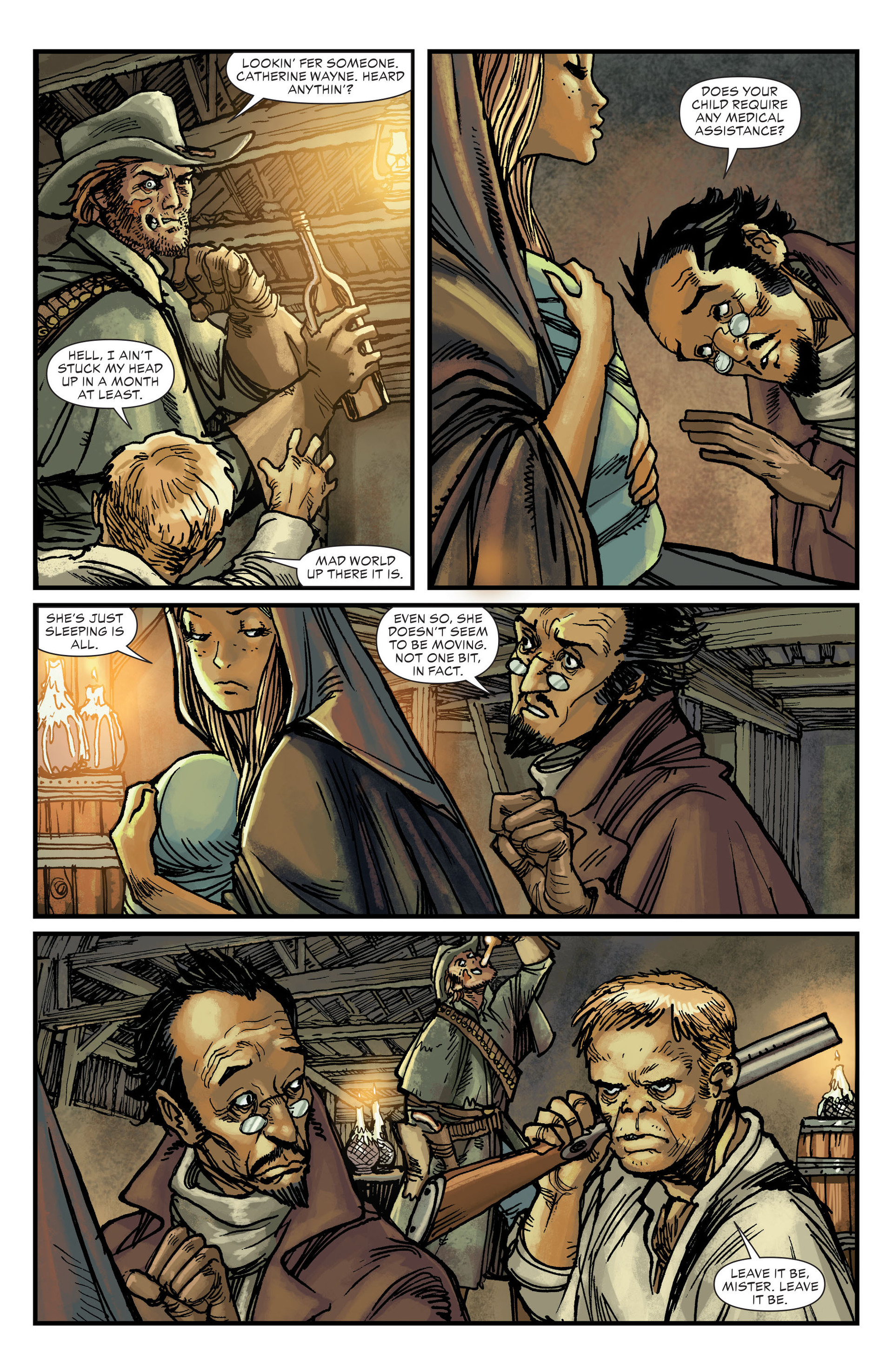 Read online All-Star Western (2011) comic -  Issue #18 - 7