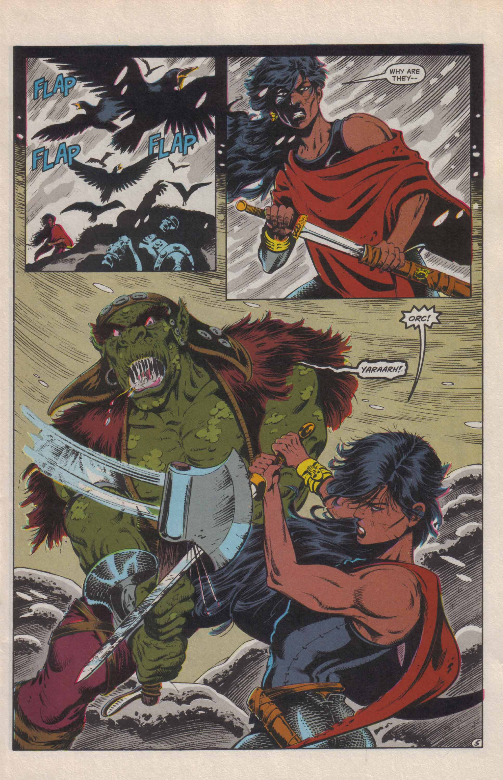 Read online Advanced Dungeons & Dragons comic -  Issue #24 - 6