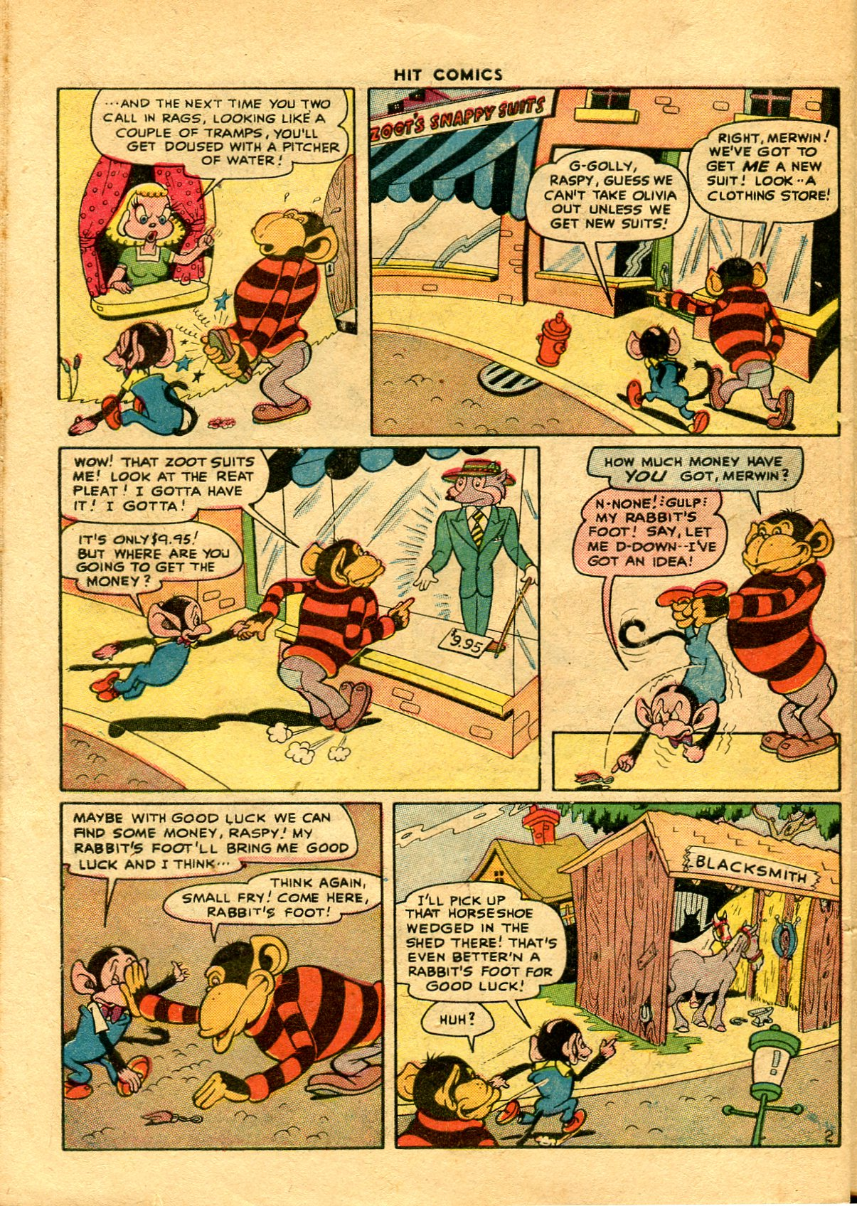 Read online Hit Comics comic -  Issue #48 - 46