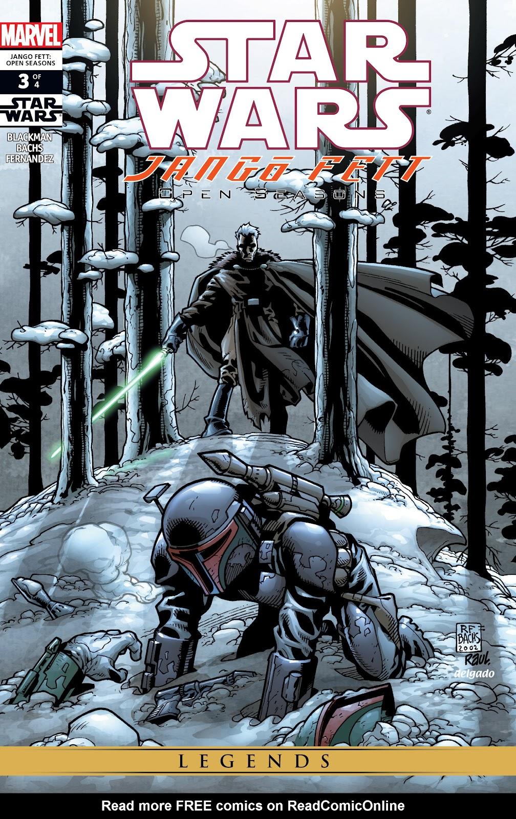 Star Wars: Jango Fett - Open Seasons 3 Page 1