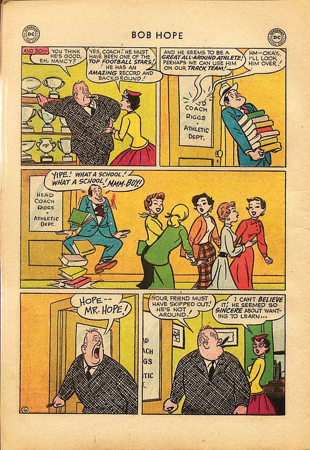 The Adventures of Bob Hope issue 42 - Page 8