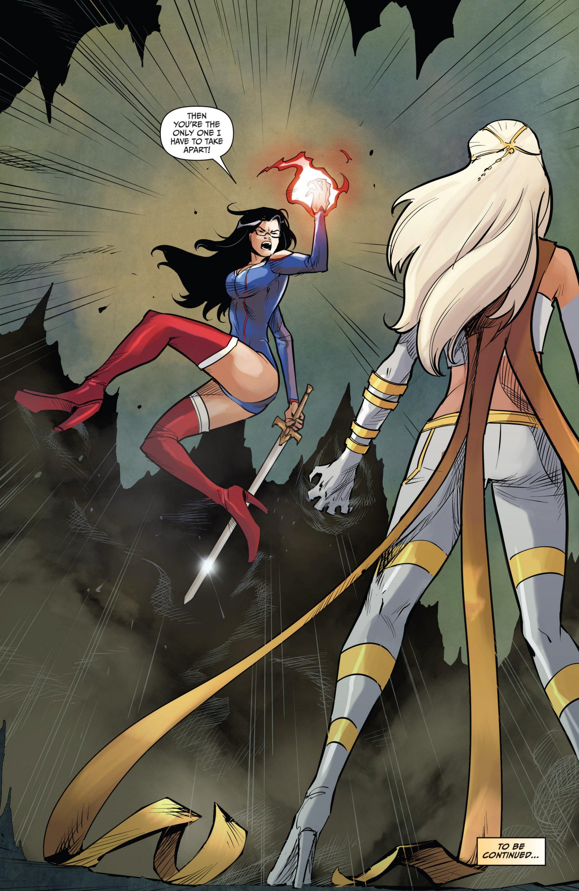 Read online Grimm Fairy Tales vs. Wonderland comic -  Issue #1 - 25