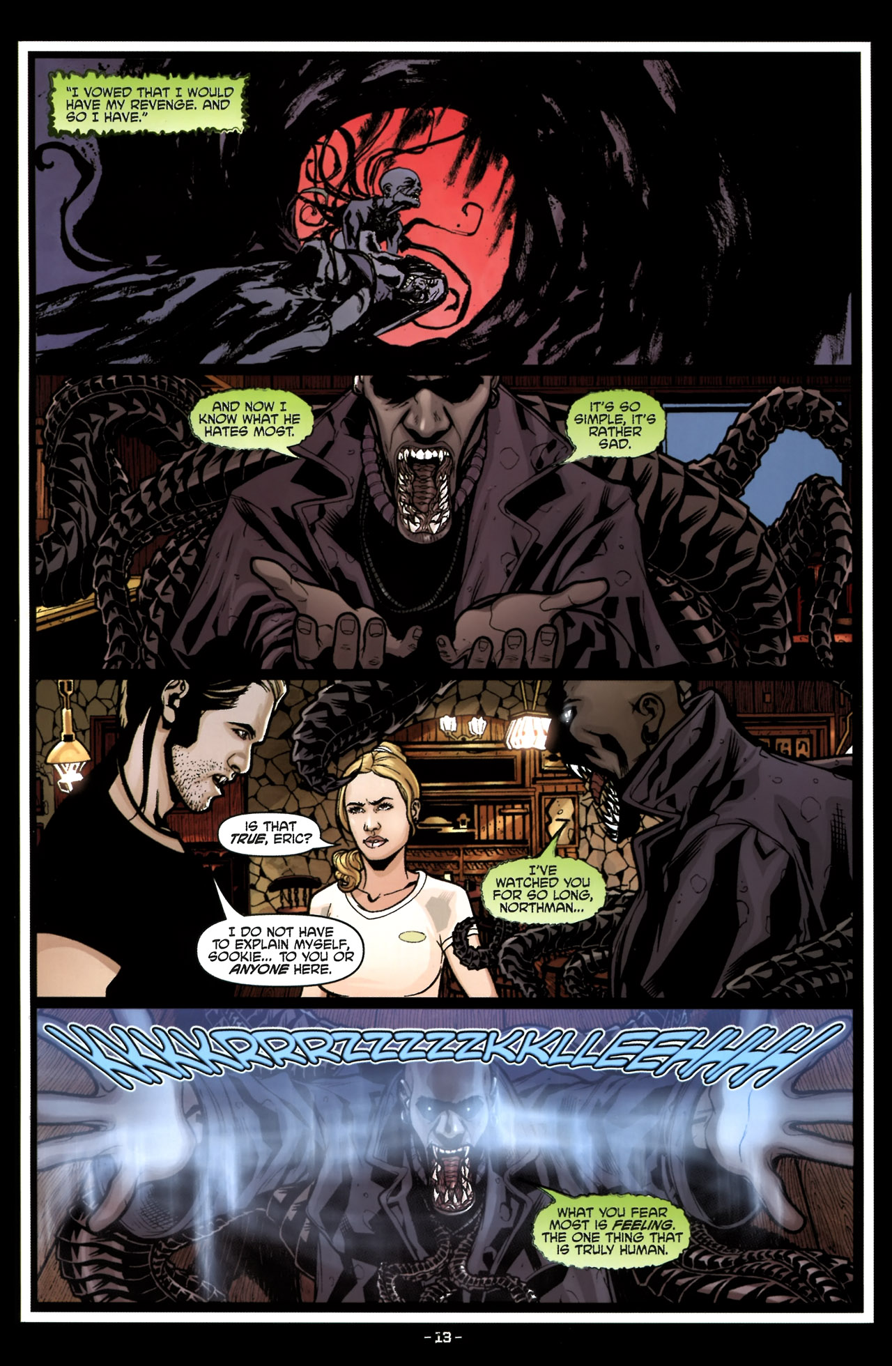 Read online True Blood (2010) comic -  Issue #6 - 16