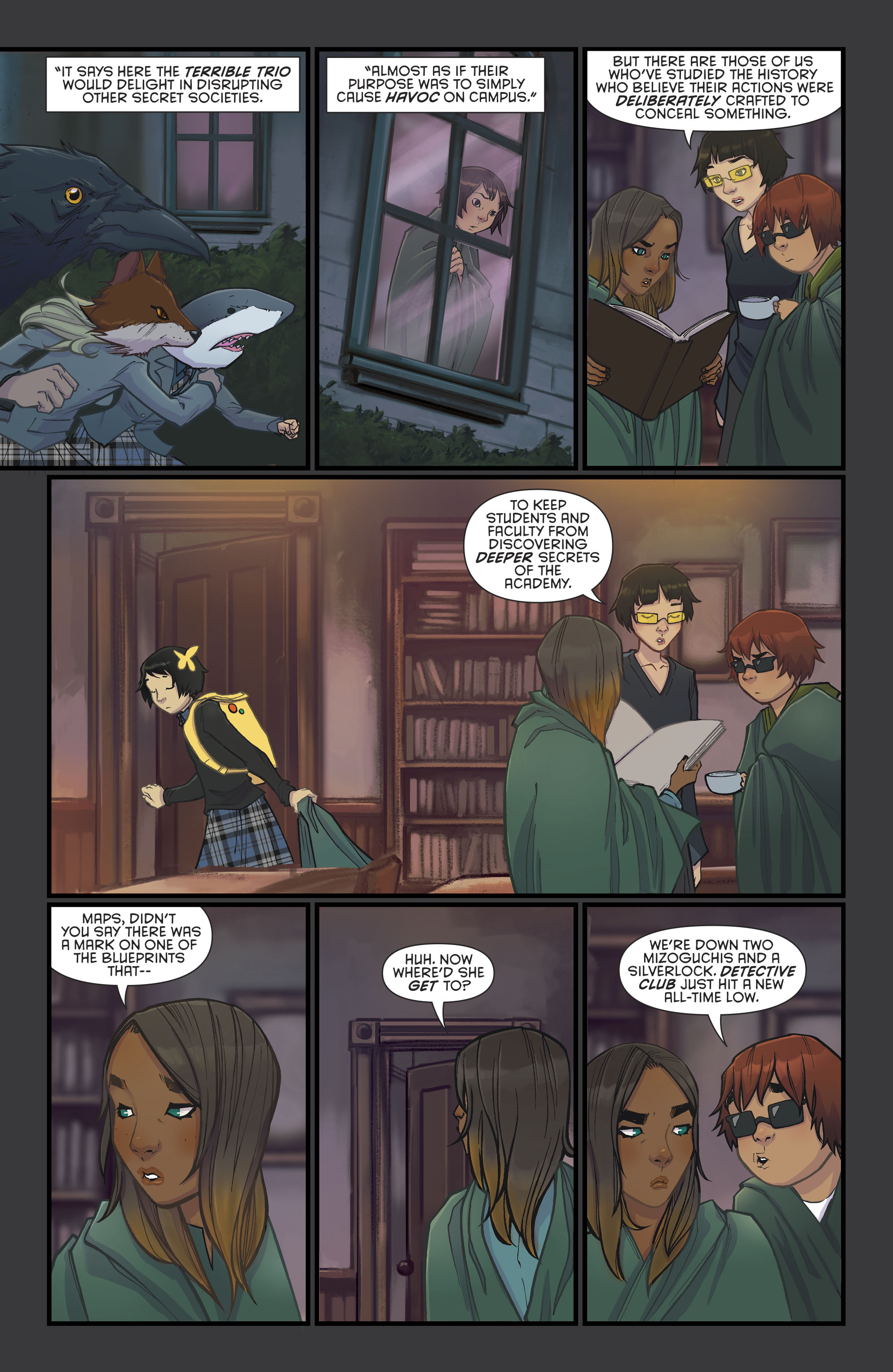 Read online Gotham Academy: Second Semester comic -  Issue #9 - 20