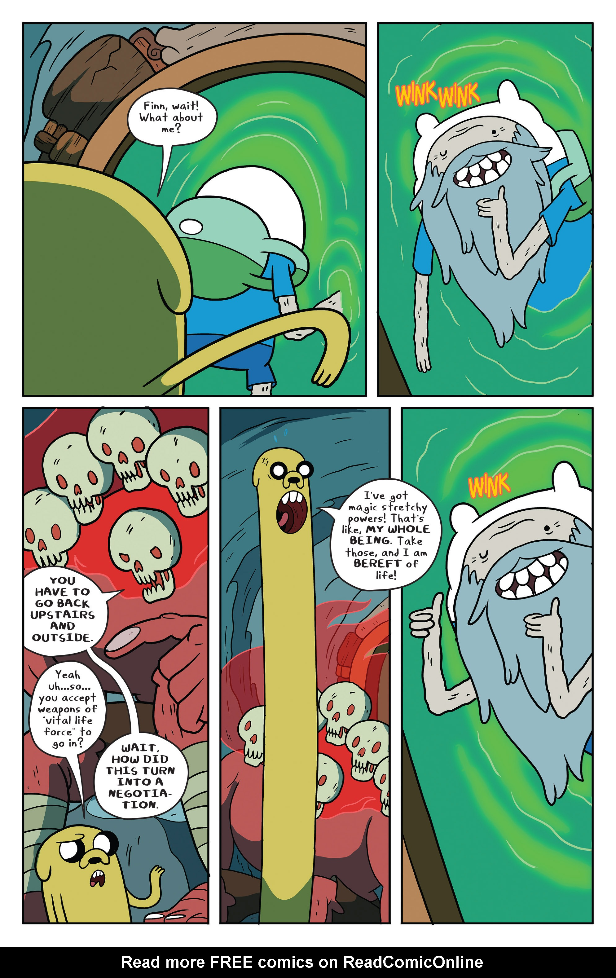Read online Adventure Time comic -  Issue #51 - 21