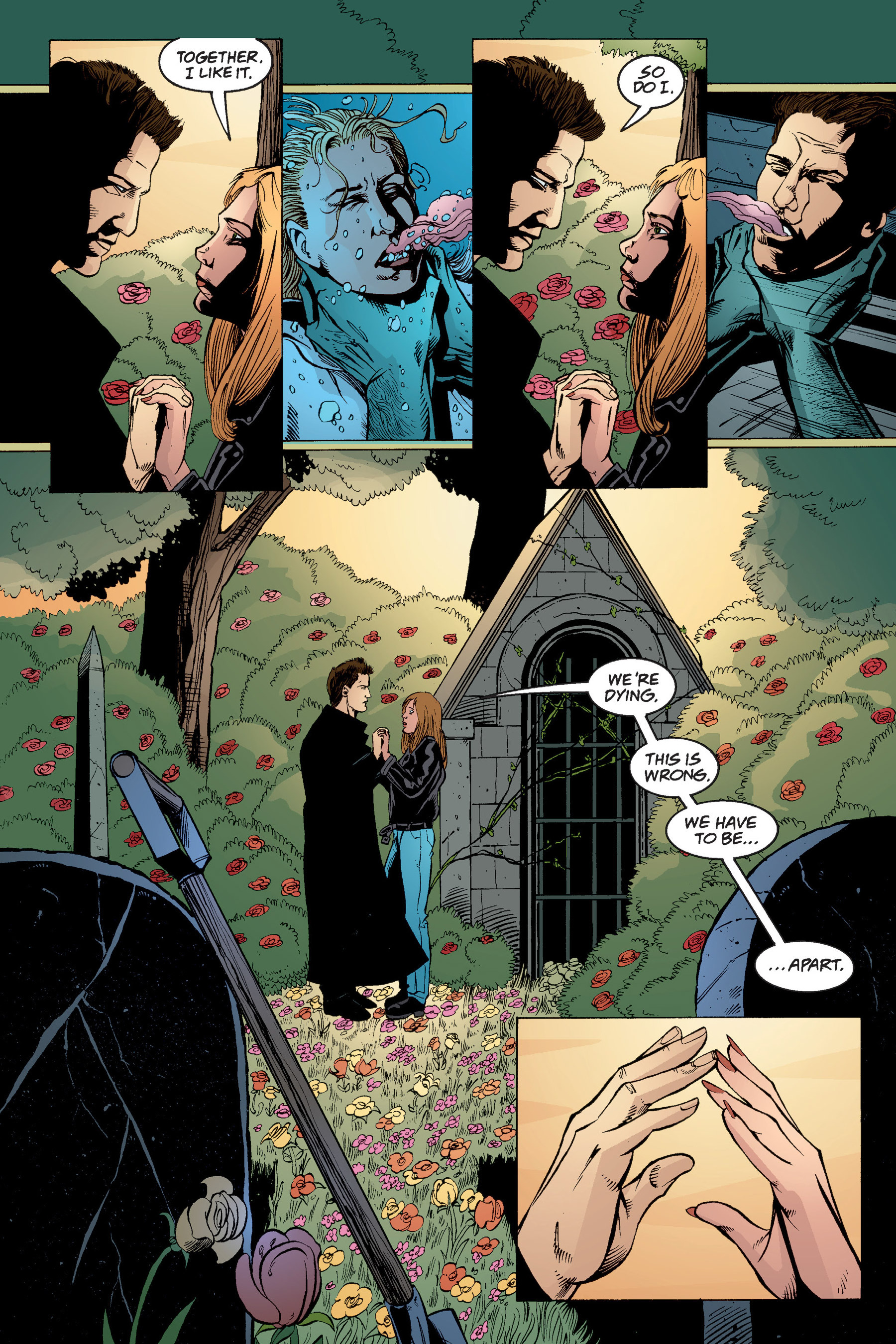 Read online Buffy the Vampire Slayer: Omnibus comic -  Issue # TPB 4 - 359