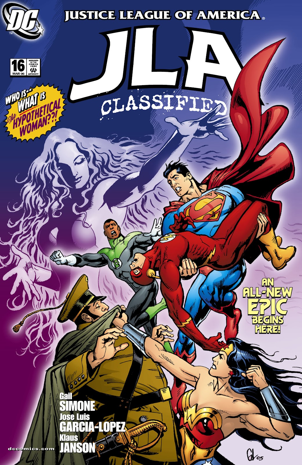 JLA: Classified issue 16 - Page 1