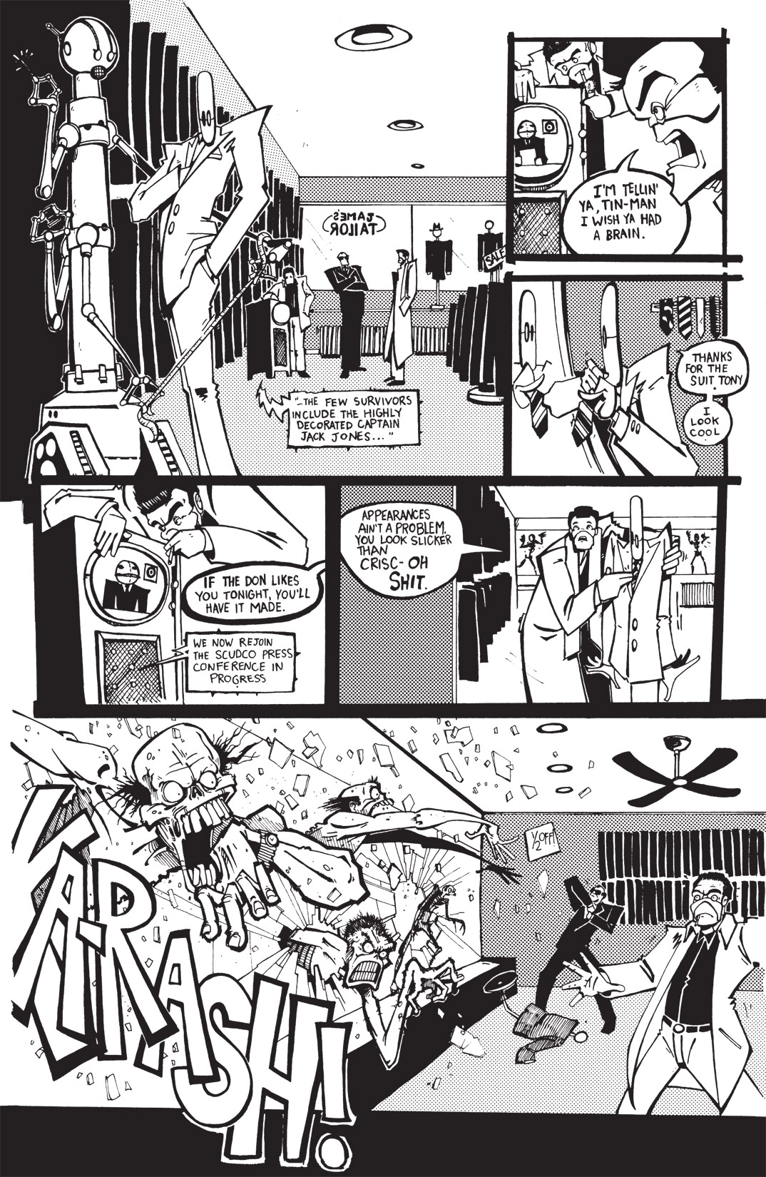 Read online Scud: The Disposable Assassin: The Whole Shebang comic -  Issue # TPB (Part 1) - 107