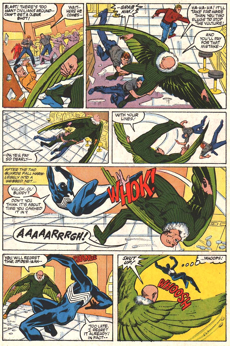 Web of Spider-Man (1985) Issue #24 #34 - English 17