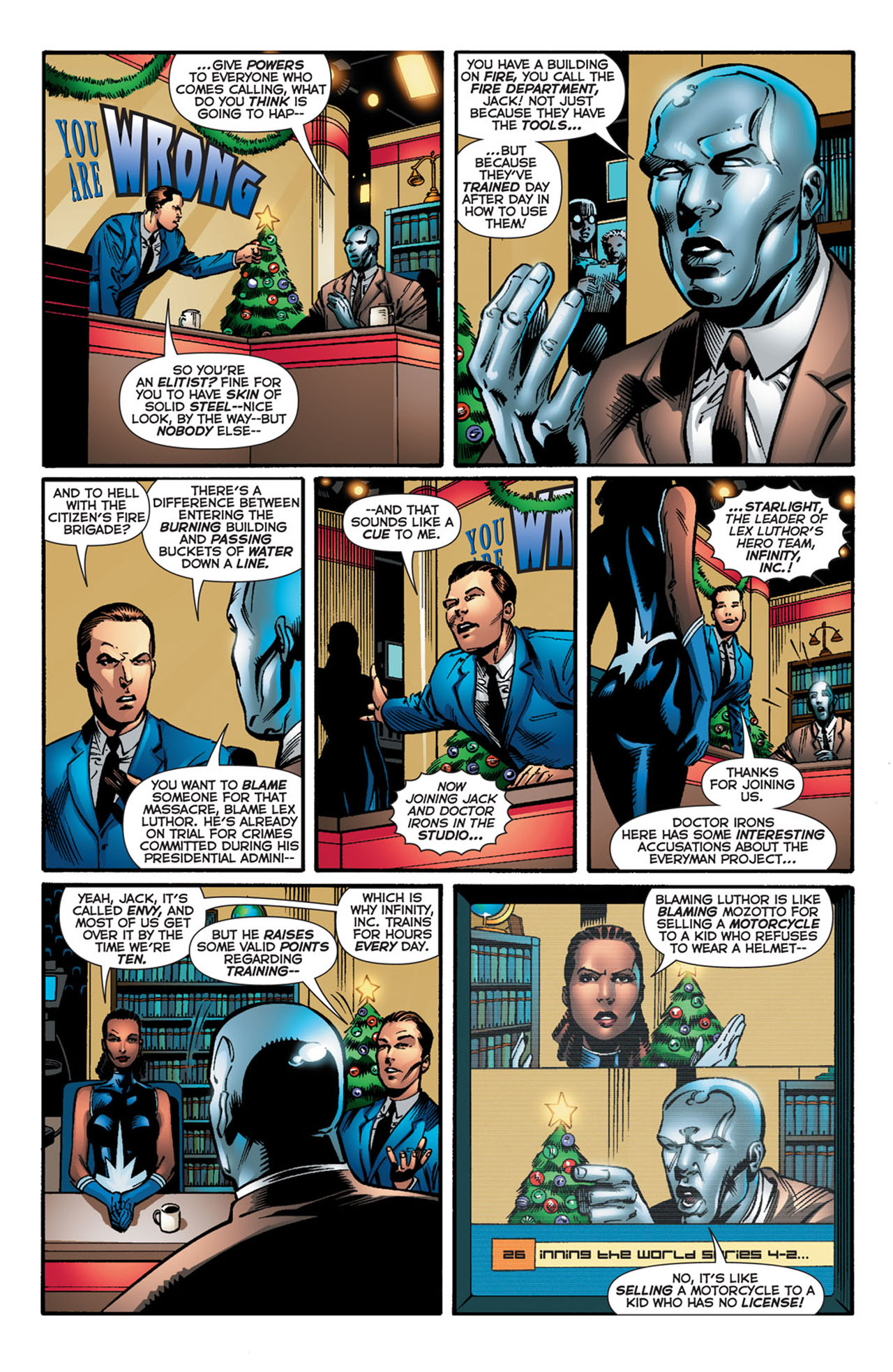 Read online 52 comic -  Issue #26 - 8