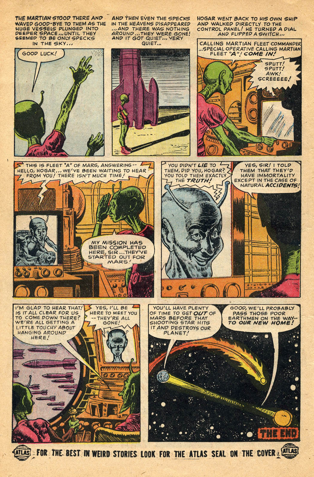 Read online Adventures into Weird Worlds comic -  Issue #29 - 14