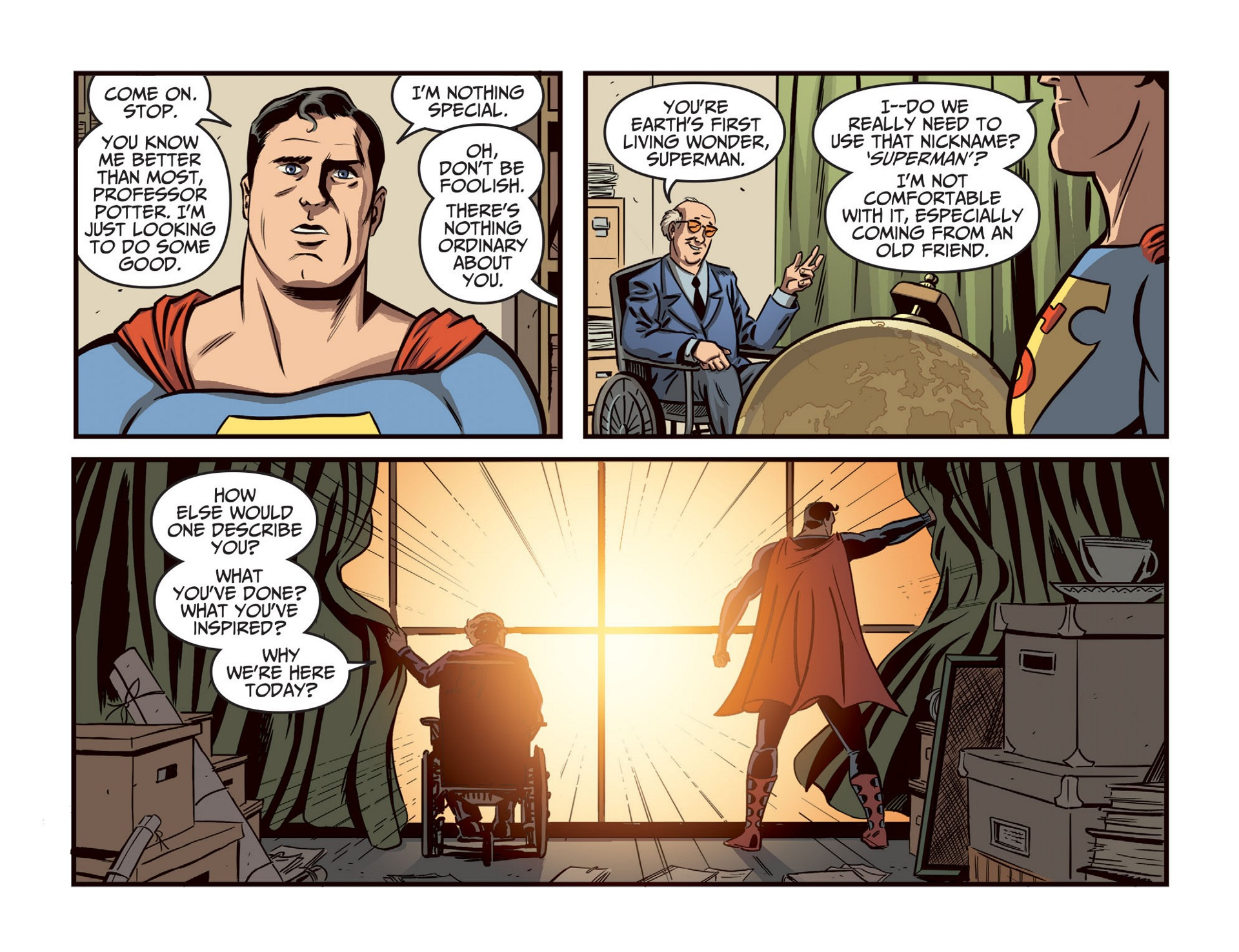 Read online Adventures of Superman [I] comic -  Issue #46 - 8