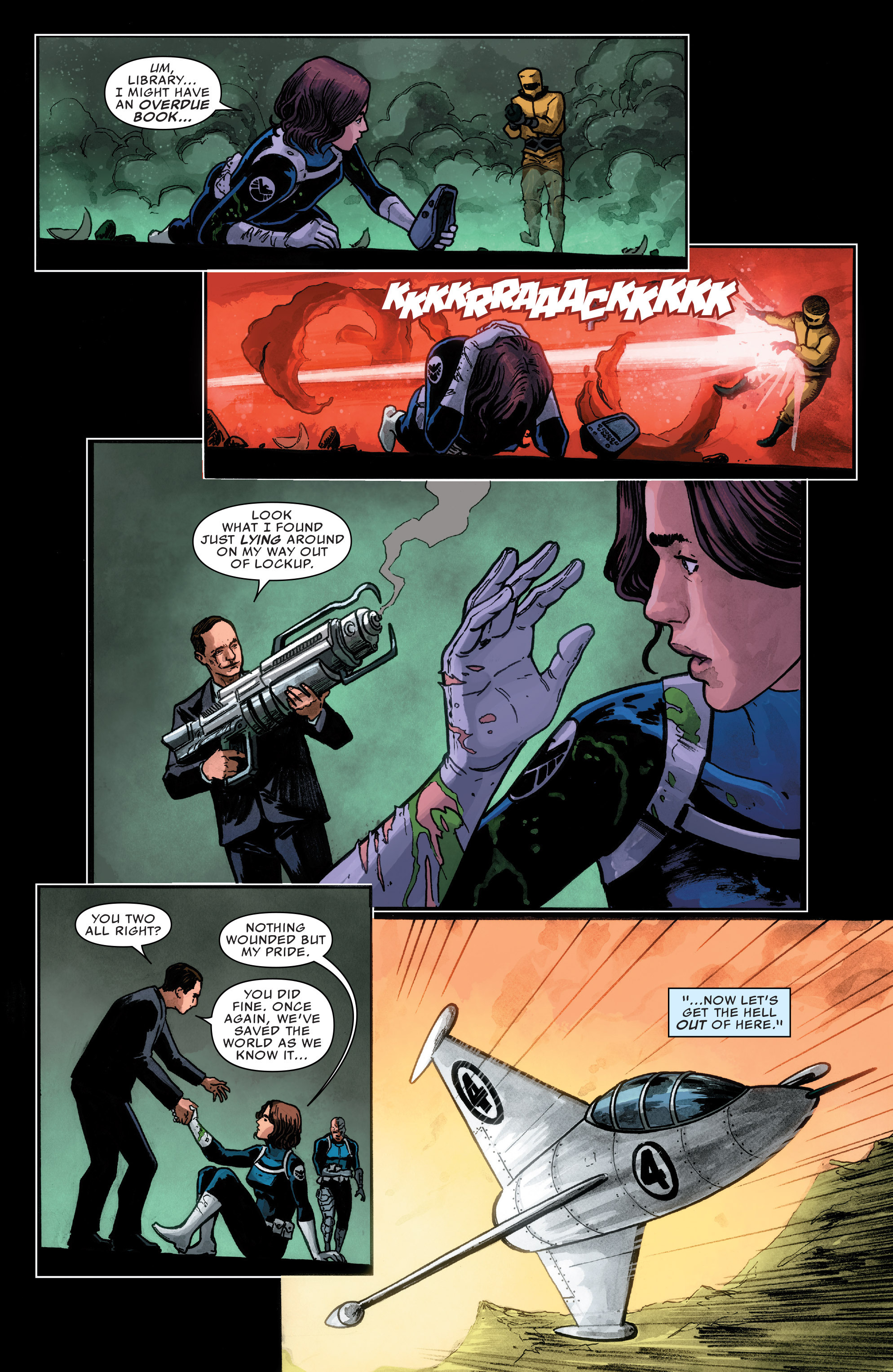 Read online Agents of S.H.I.E.L.D. comic -  Issue #1 - 11