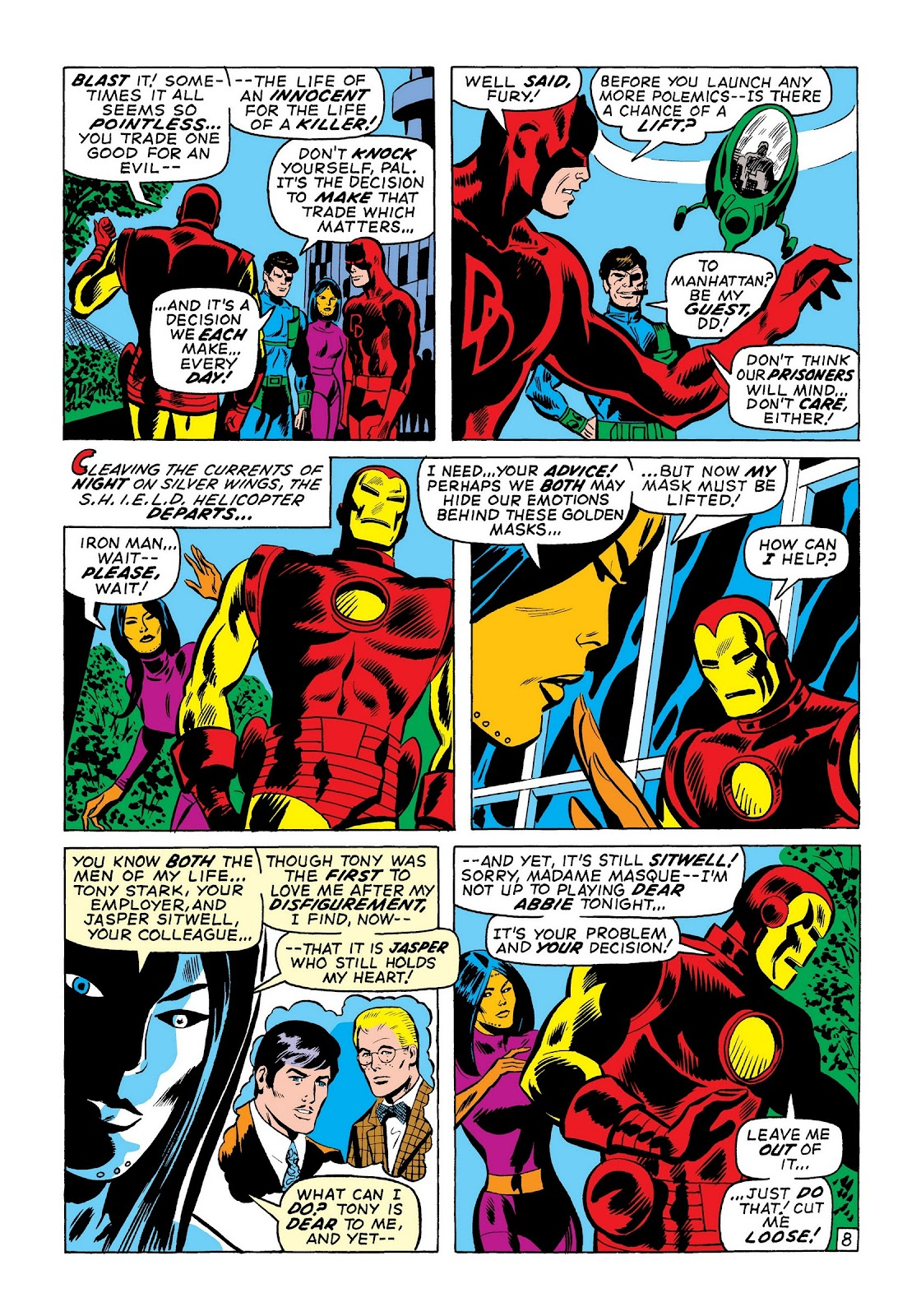 Read online Marvel Masterworks: The Invincible Iron Man comic -  Issue # TPB 7 (Part 3) - 37