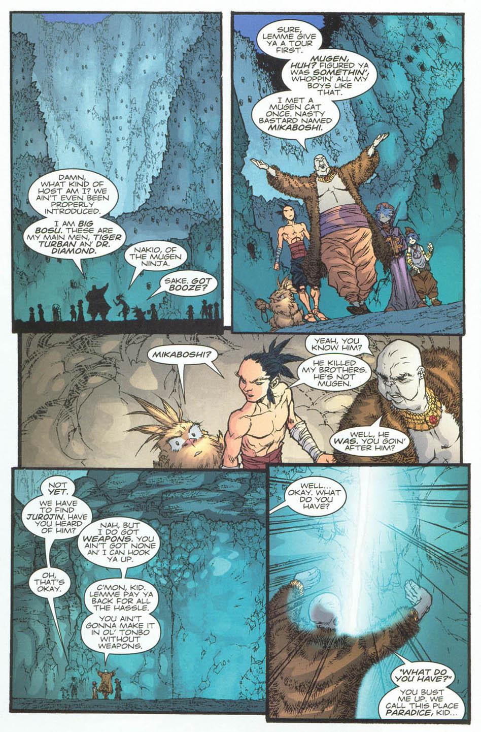 Read online Ninja Boy comic -  Issue #4 - 16