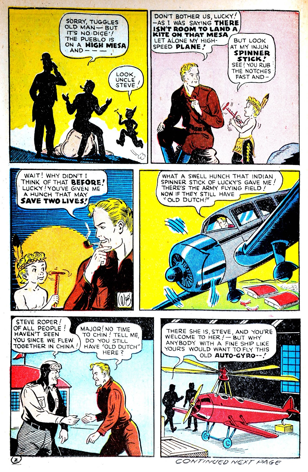 Read online Famous Funnies comic -  Issue #123 - 36