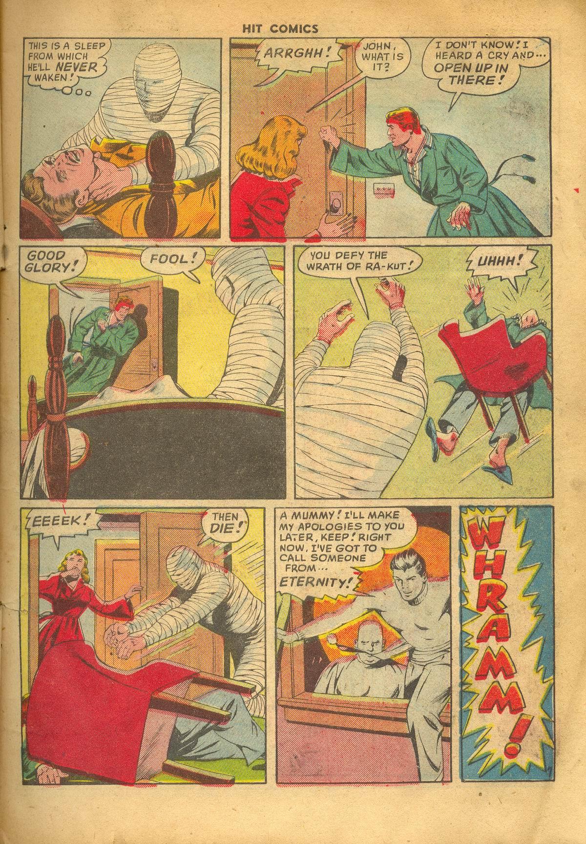 Read online Hit Comics comic -  Issue #60 - 9