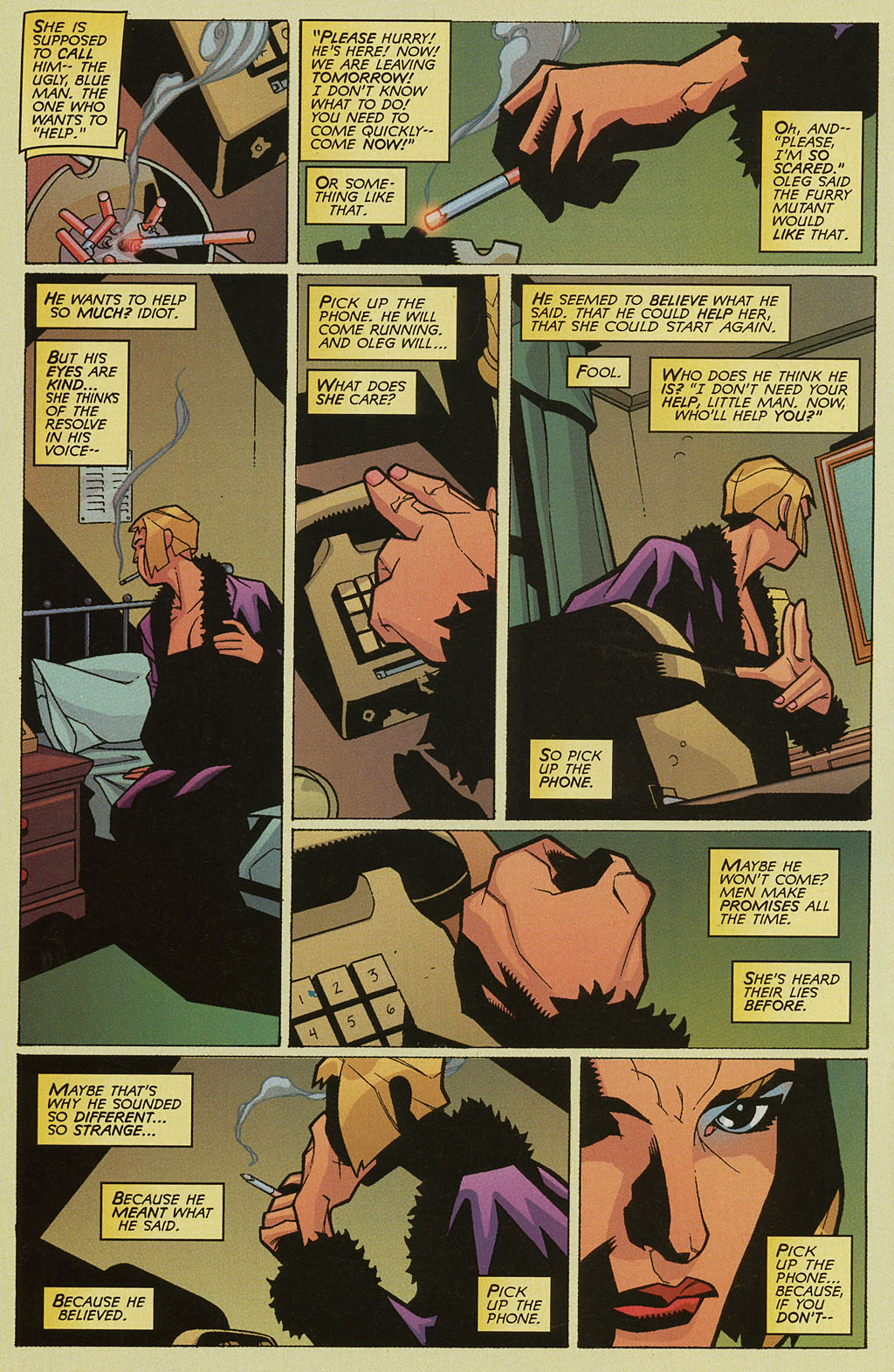 Read online Nightcrawler (2002) comic -  Issue #3 - 17