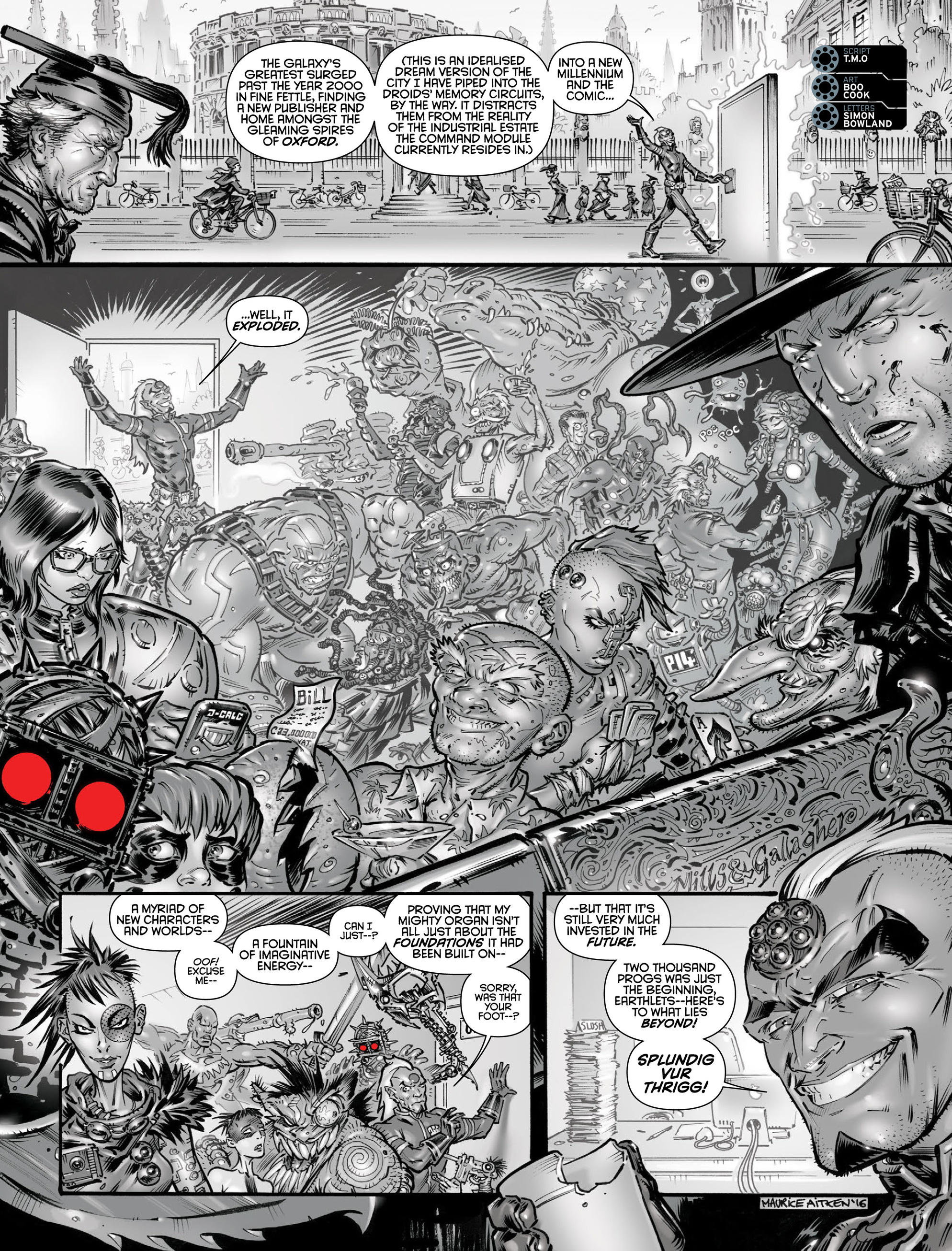 Read online 2000 AD comic -  Issue #2000 - 45