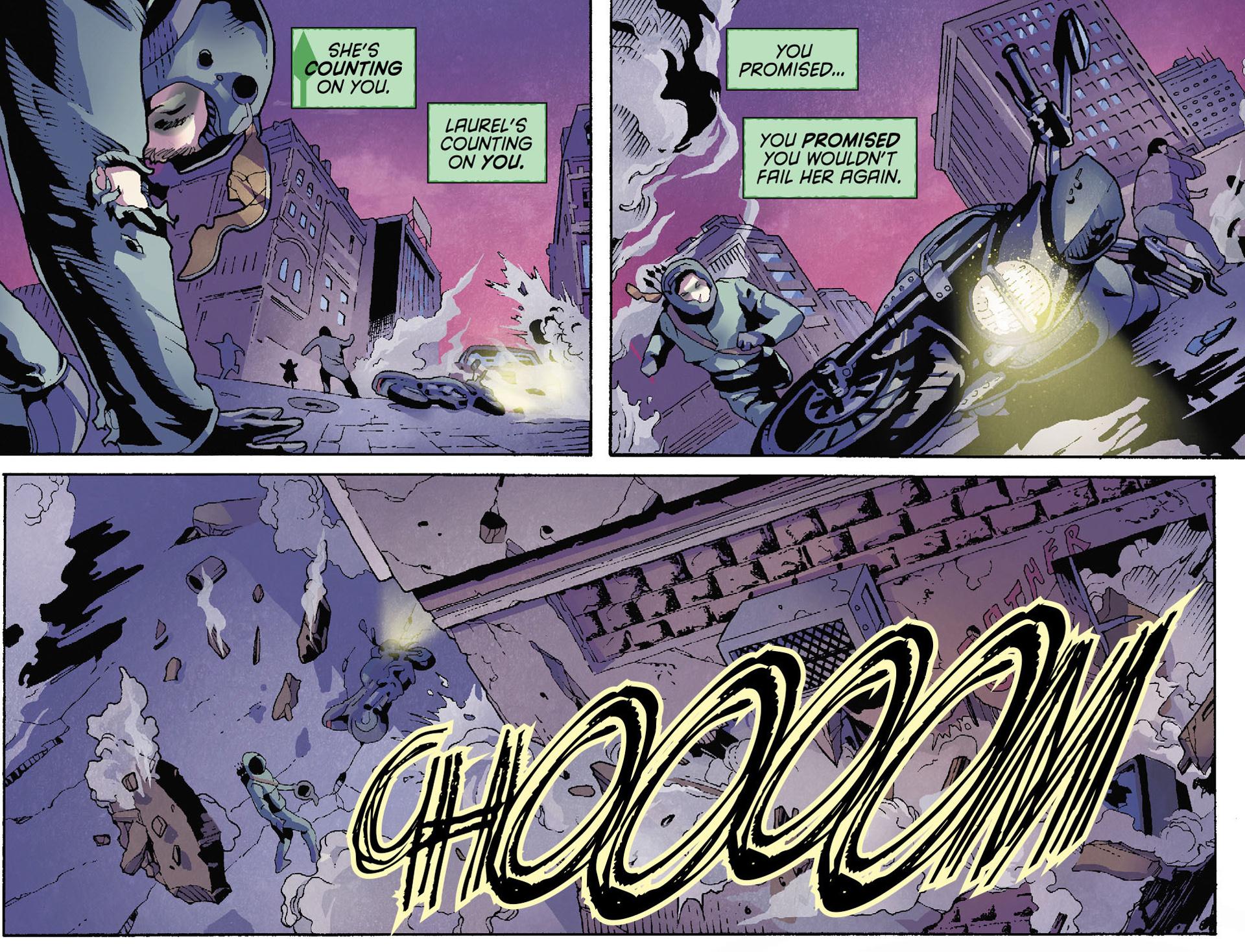 Read online Arrow [II] comic -  Issue #35 - 19