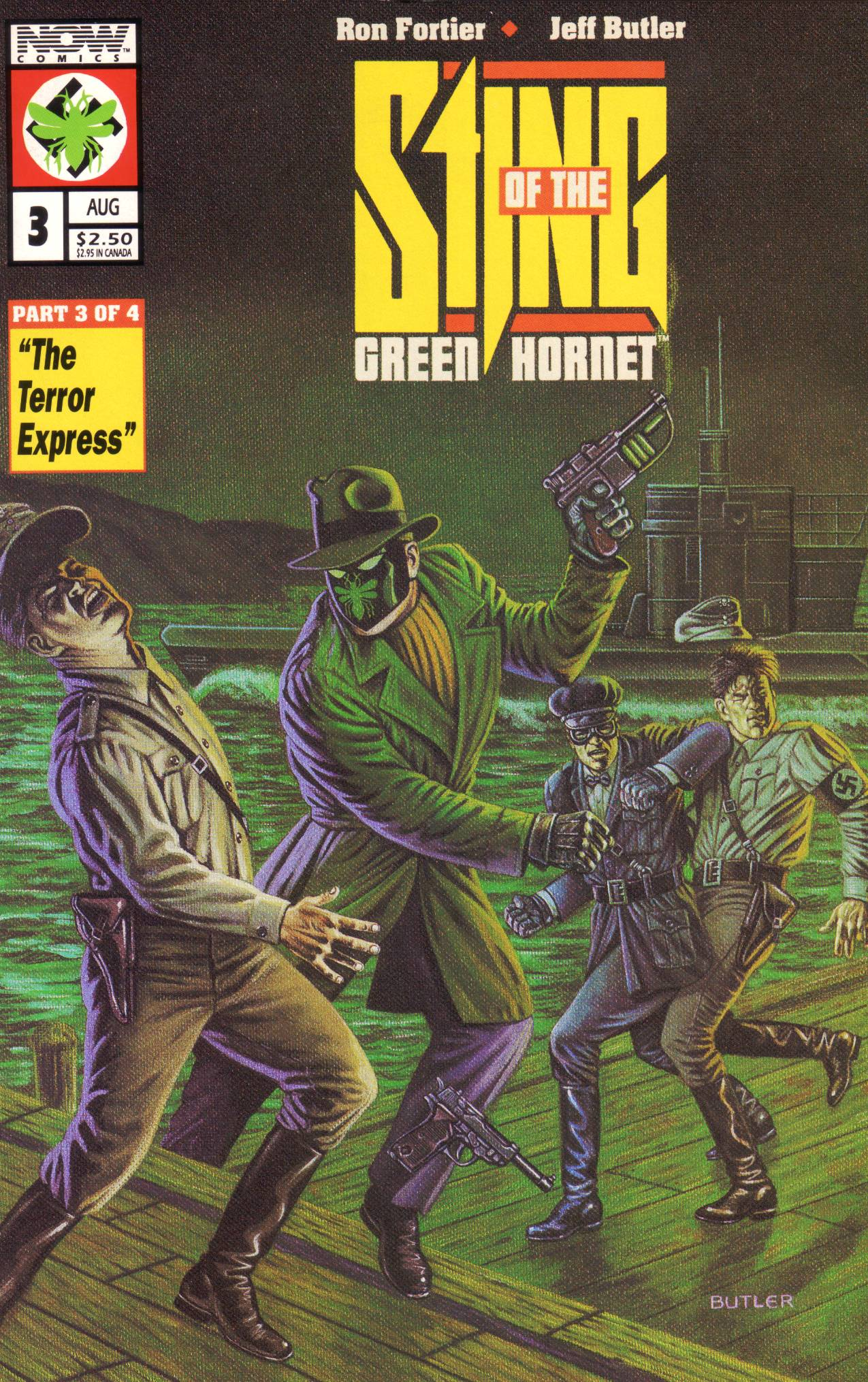 Read online Sting of The Green Hornet comic -  Issue #3 - 1