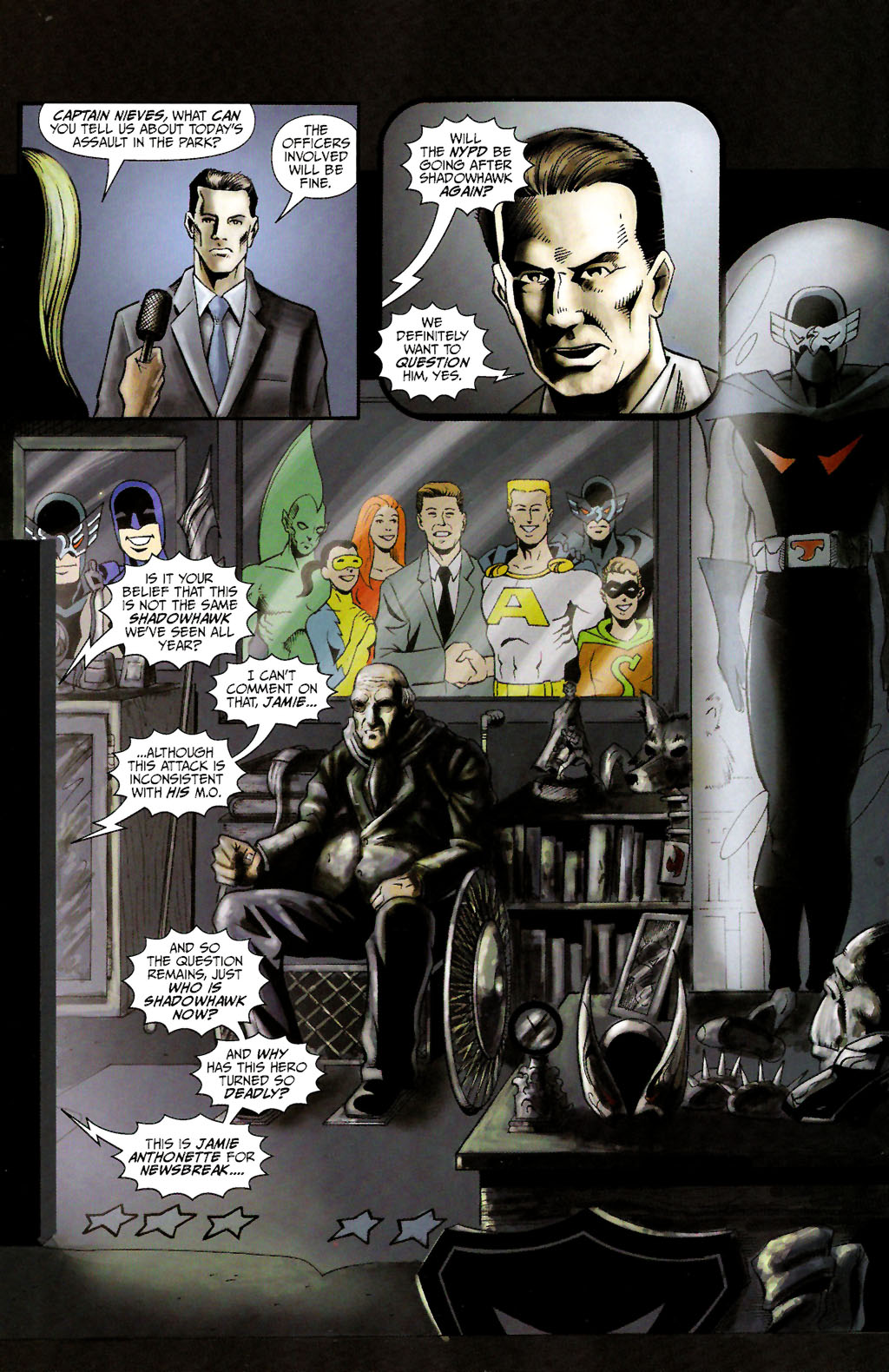 Read online ShadowHawk (2005) comic -  Issue #10 - 14