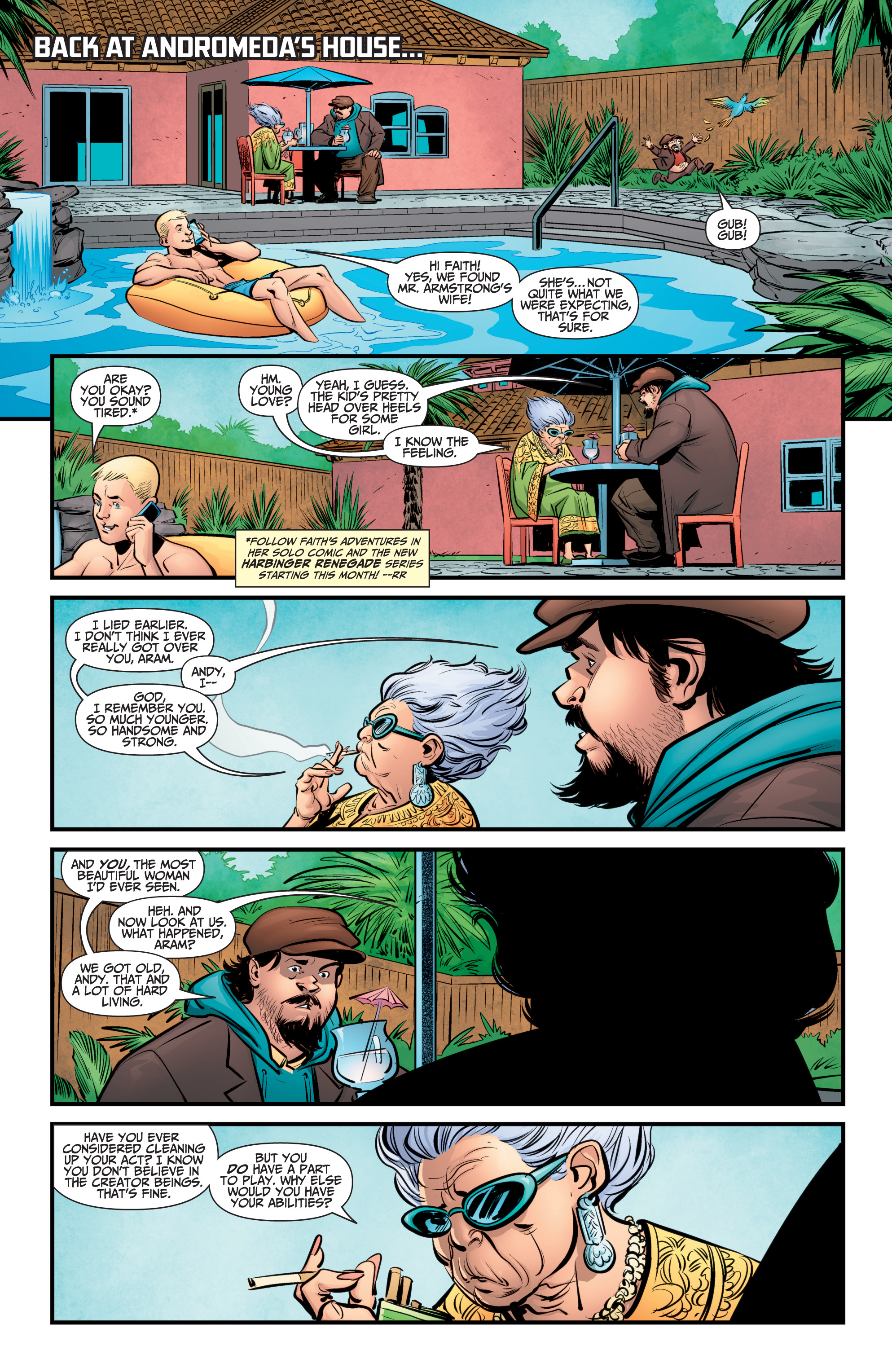 Read online A&A: The Adventures of Archer & Armstrong comic -  Issue #9 - 13