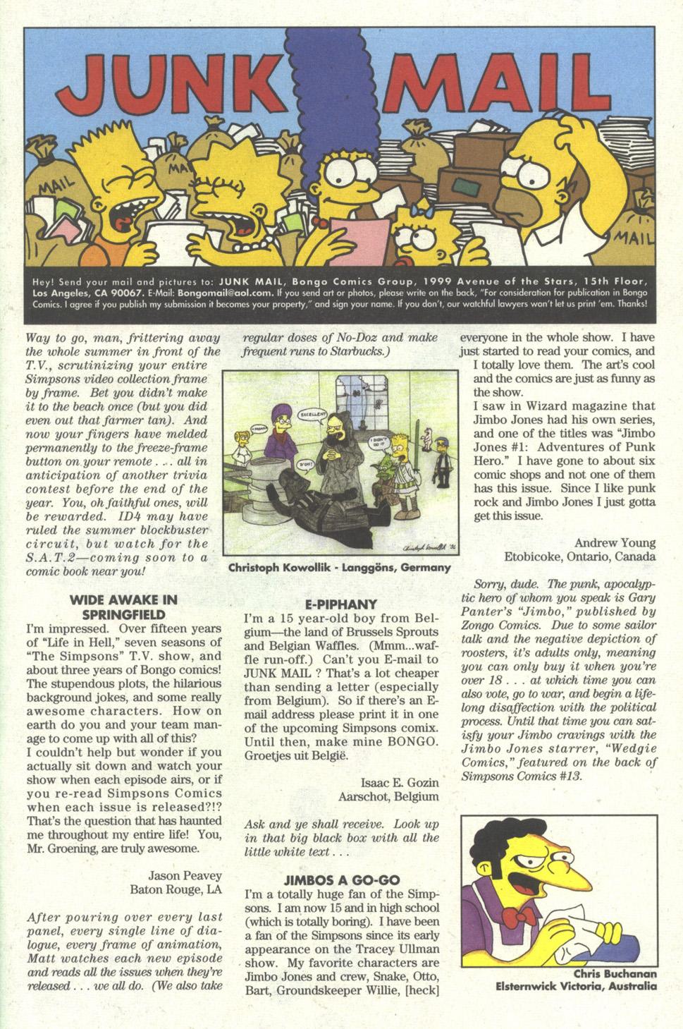 Read online Simpsons Comics comic -  Issue #23 - 25