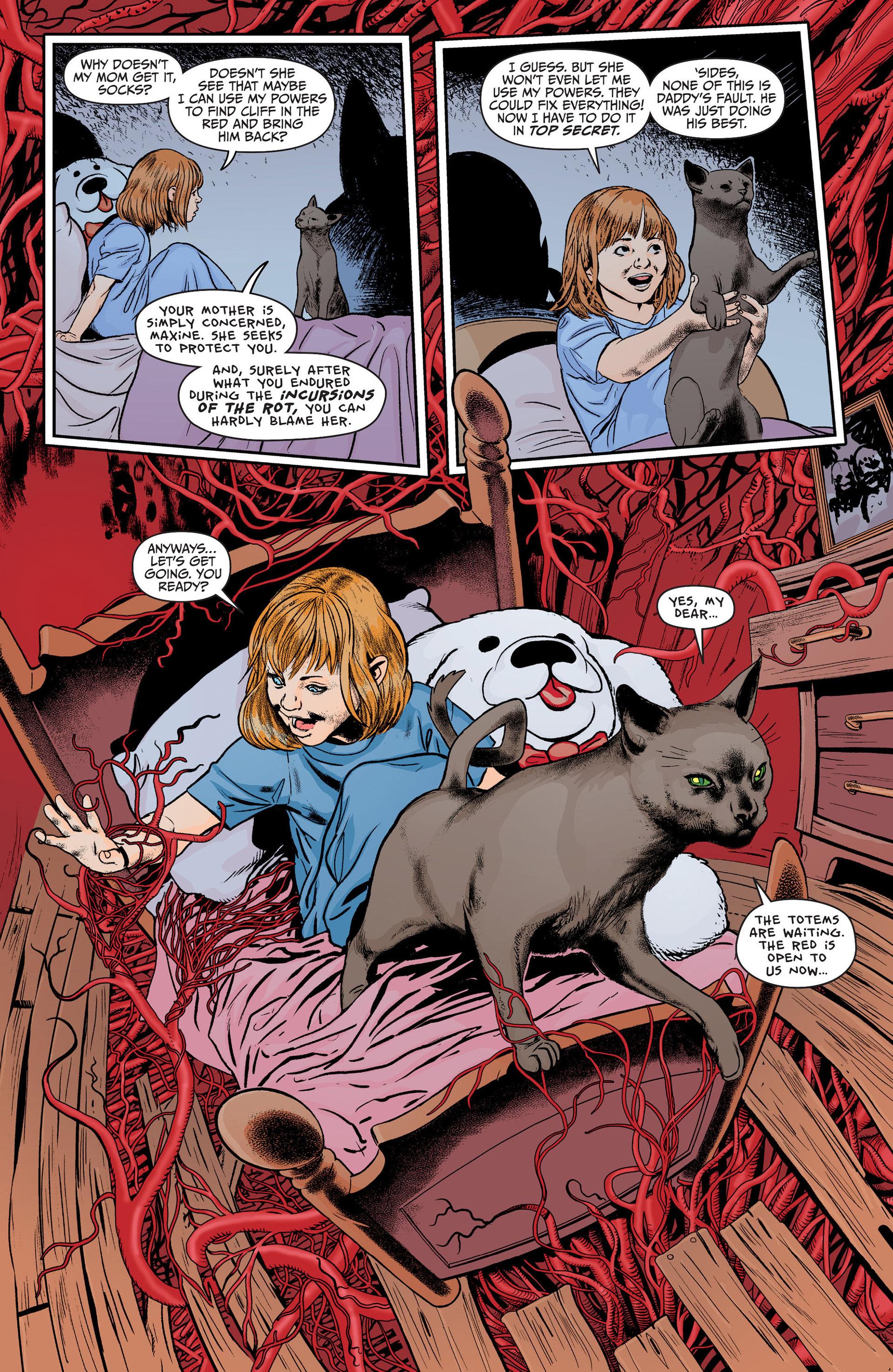 Read online Animal Man (2011) comic -  Issue #21 - 7