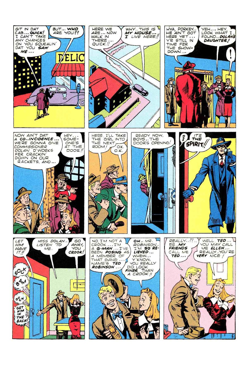 Read online Will Eisner's The Spirit Archives comic -  Issue # TPB 2 (Part 2) - 49