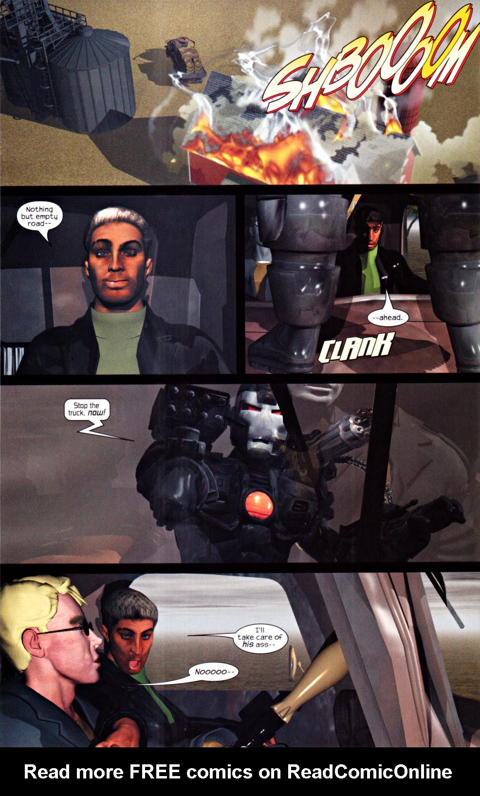 Read online U.S. War Machine 2.0 comic -  Issue #1 - 24