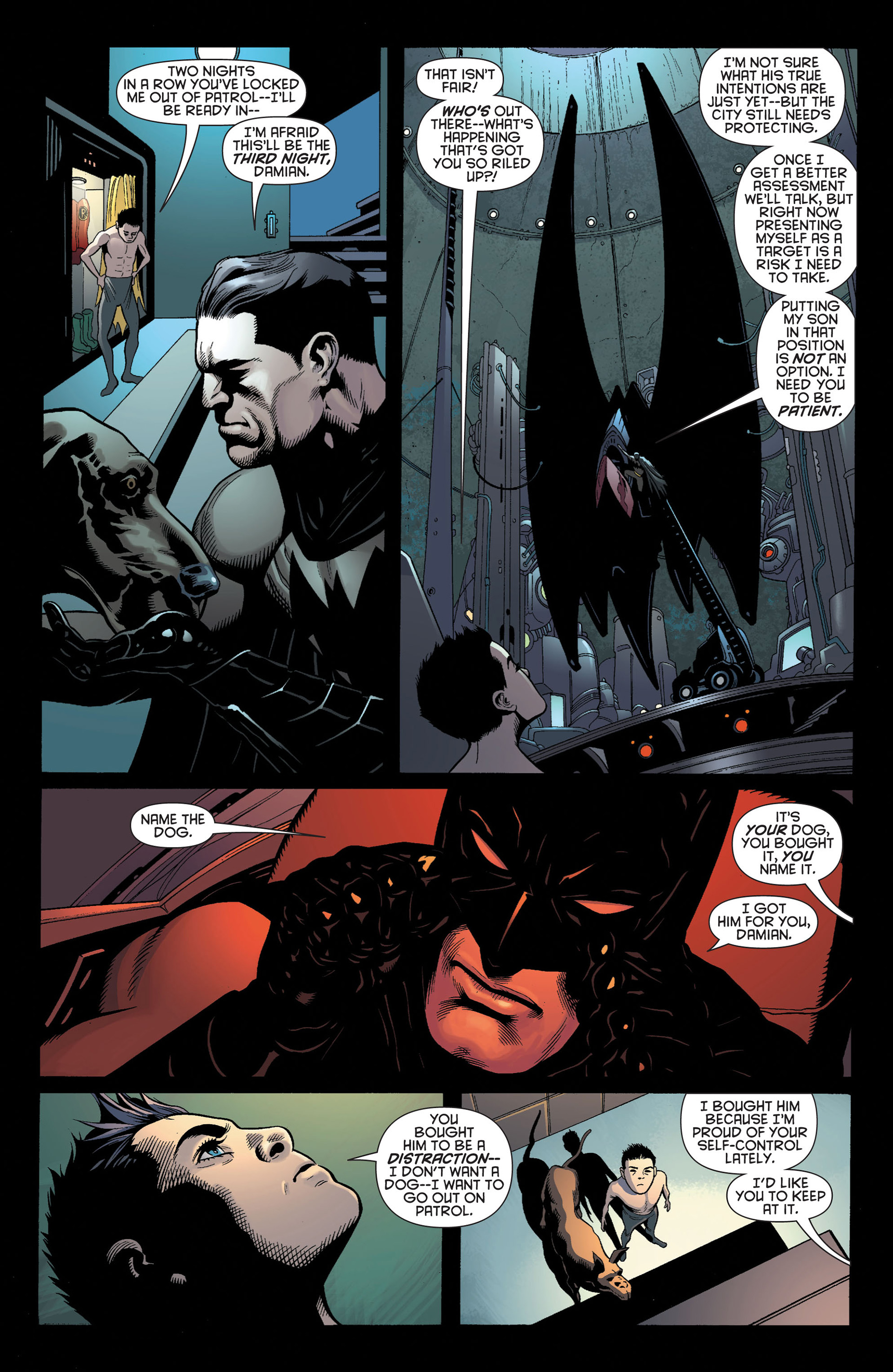 Read online Batman and Robin (2011) comic -  Issue #3 - 6