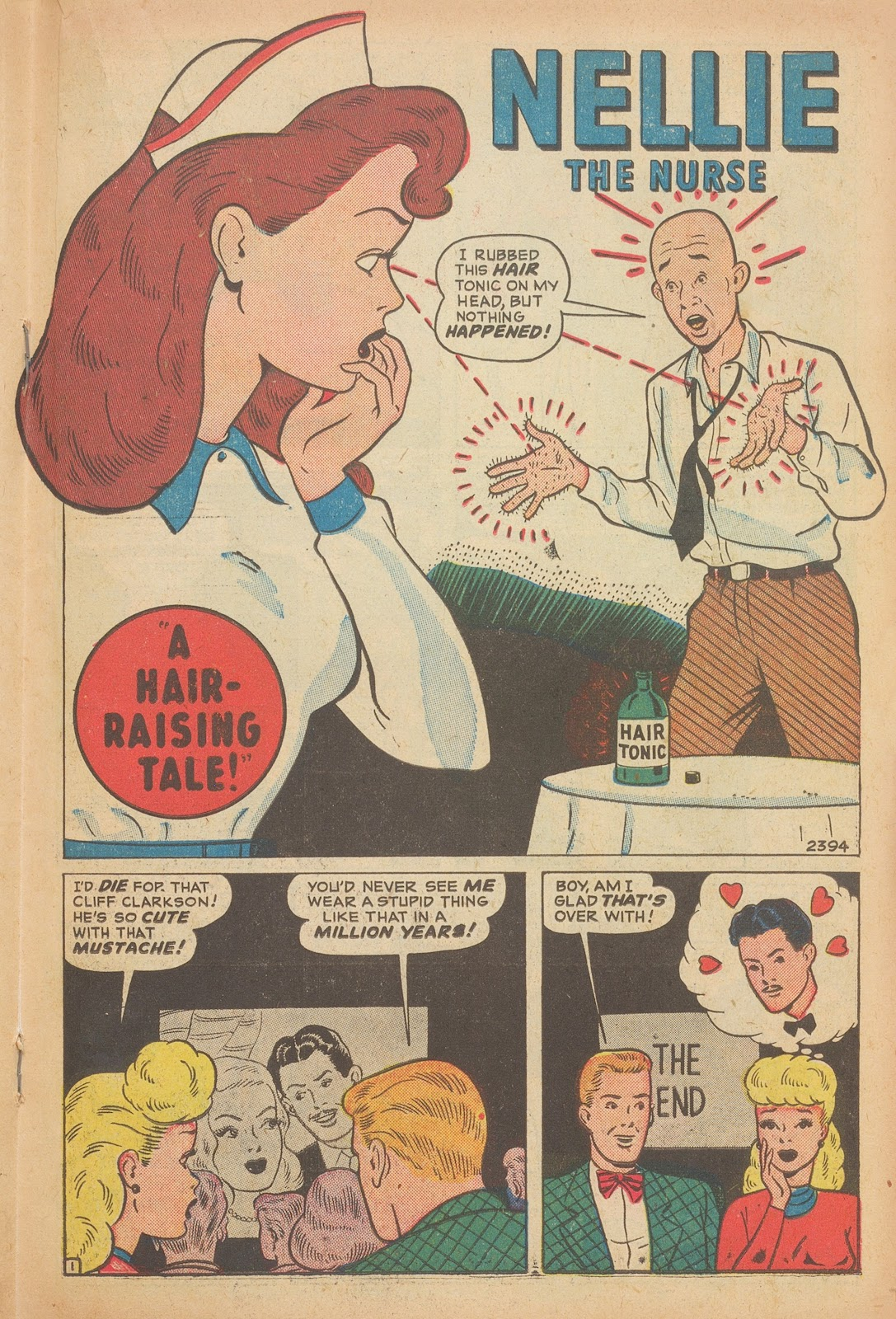 Read online Nellie The Nurse (1945) comic -  Issue #15 - 27