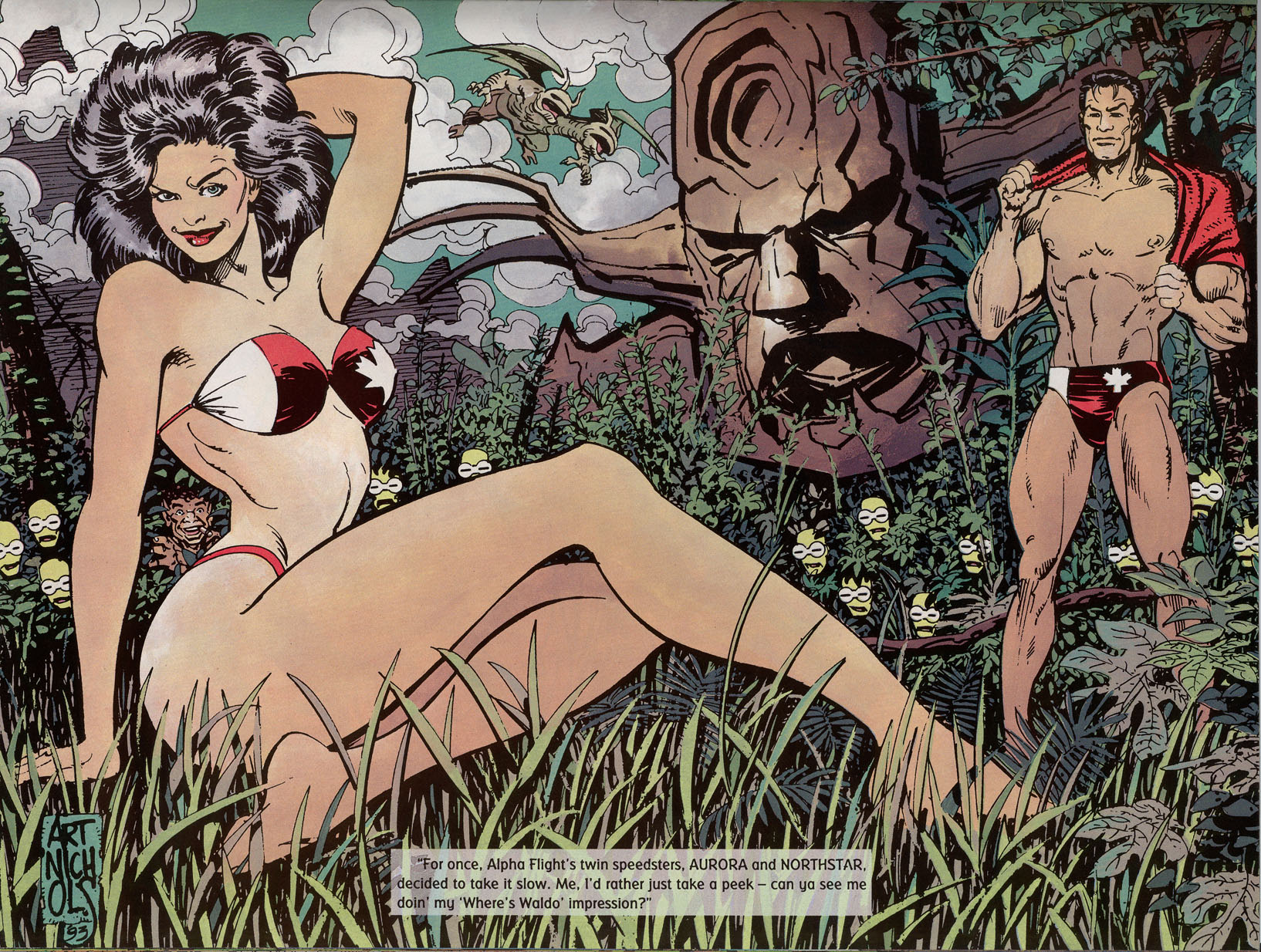 Read online Marvel Swimsuit Special comic -  Issue #2 - 27