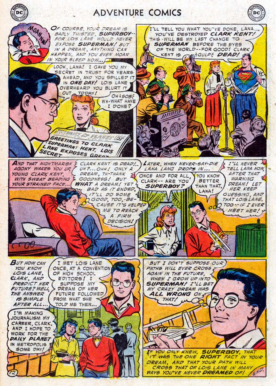 Read online Adventure Comics (1938) comic -  Issue #211 - 14