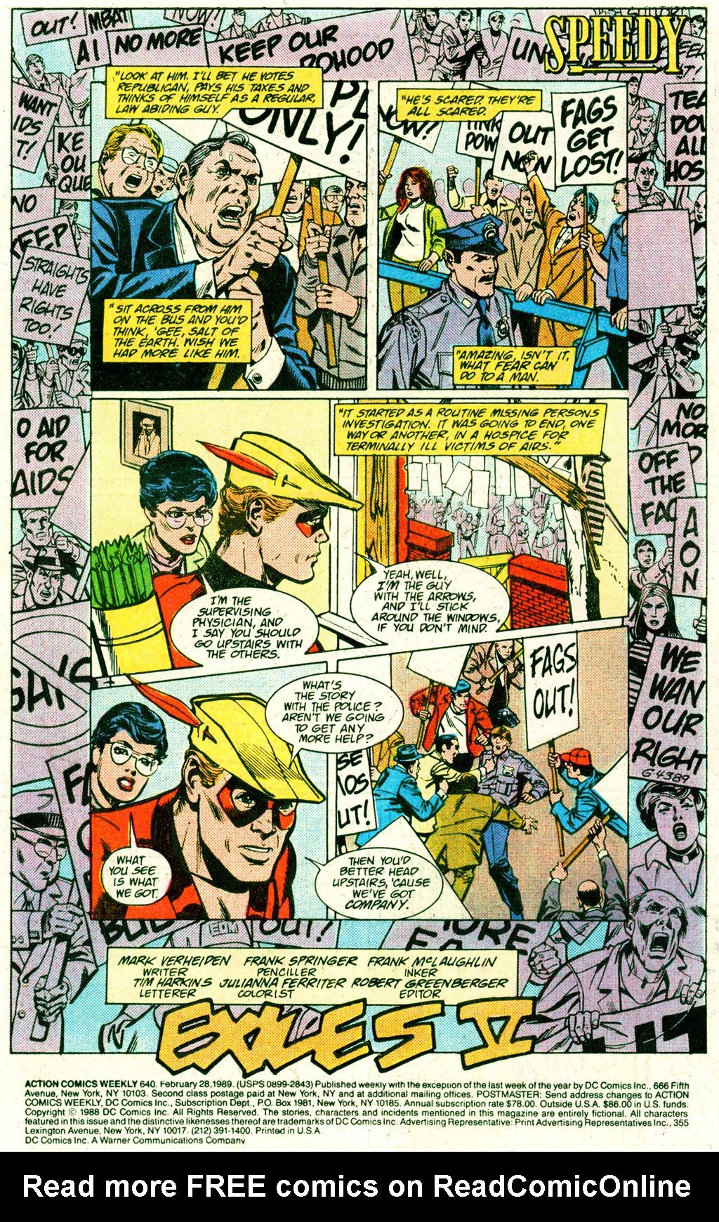 Action Comics (1938) 640 Page 1