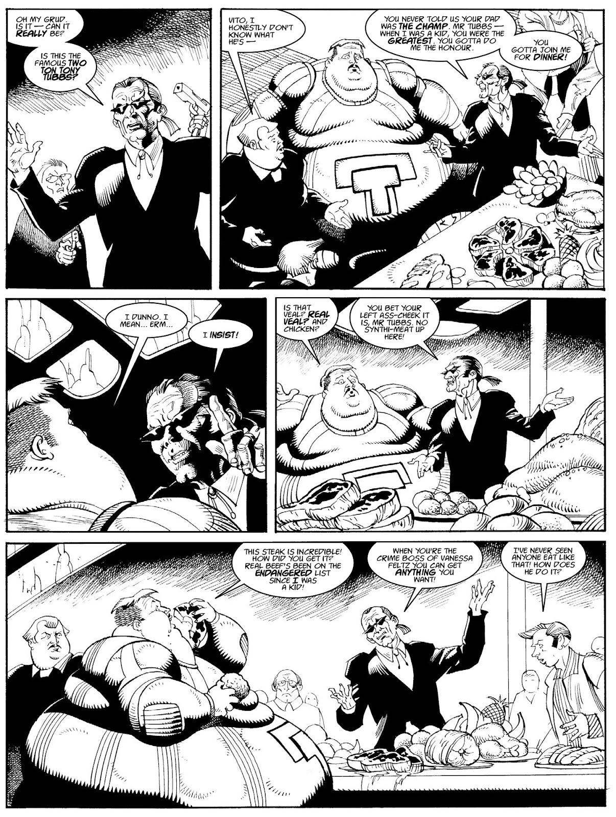 Judge Dredd Megazine (Vol. 5) issue 427 - Page 126