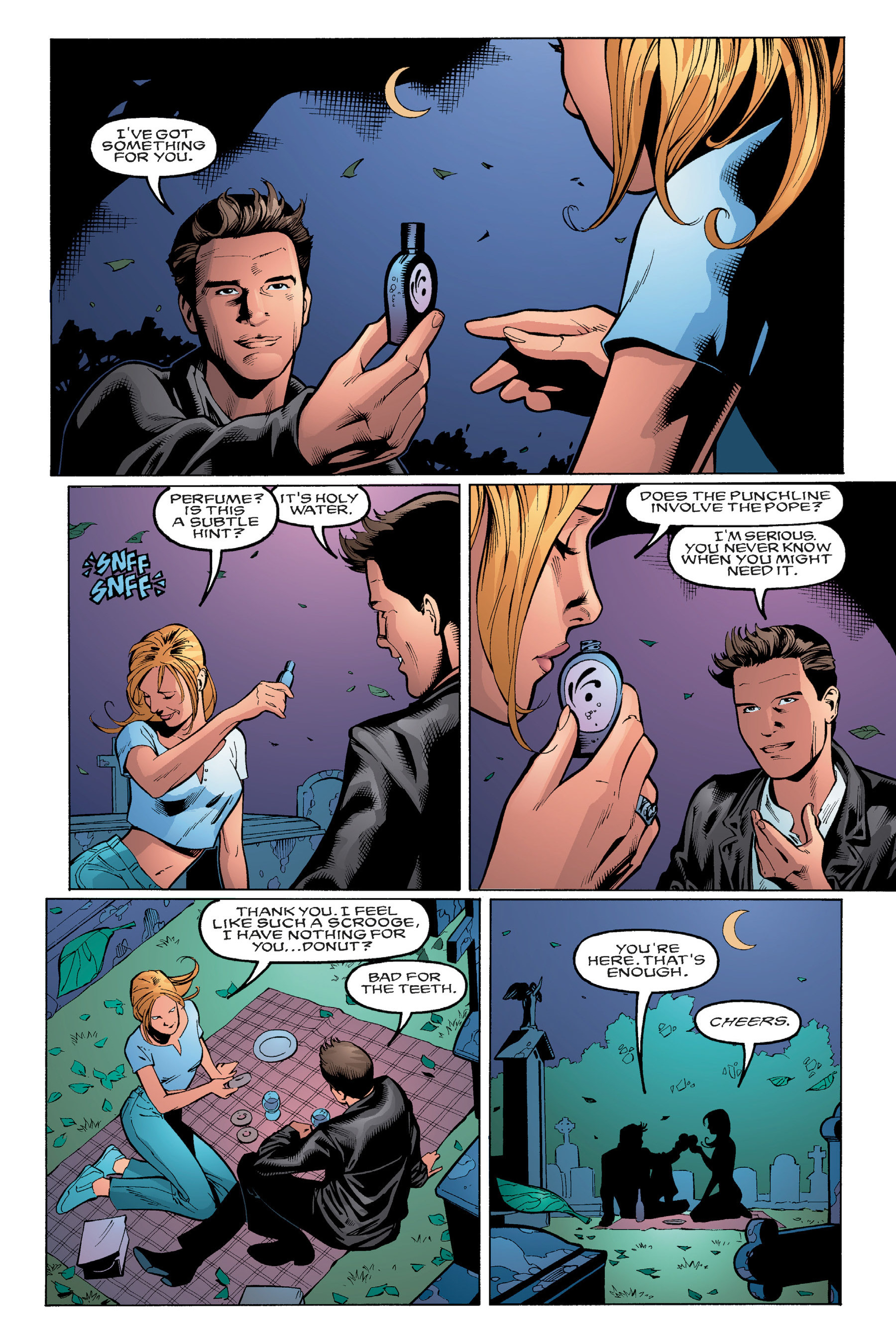 Read online Buffy the Vampire Slayer: Omnibus comic -  Issue # TPB 3 - 237