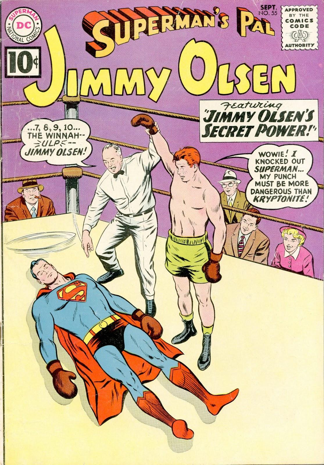 Supermans Pal Jimmy Olsen (1954) 55 Page 1