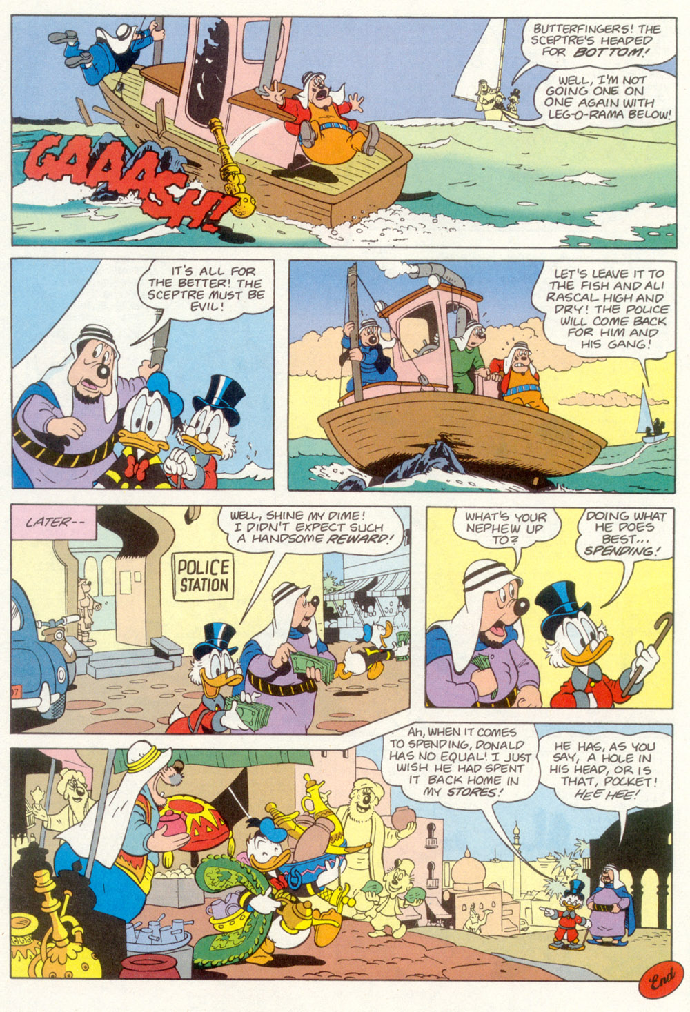 Read online Uncle Scrooge (1953) comic -  Issue #267 - 30