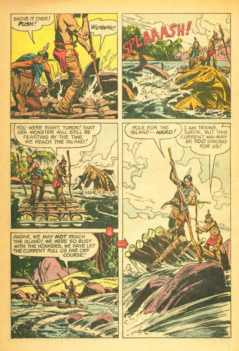 Read online Turok, Son of Stone comic -  Issue #27 - 8