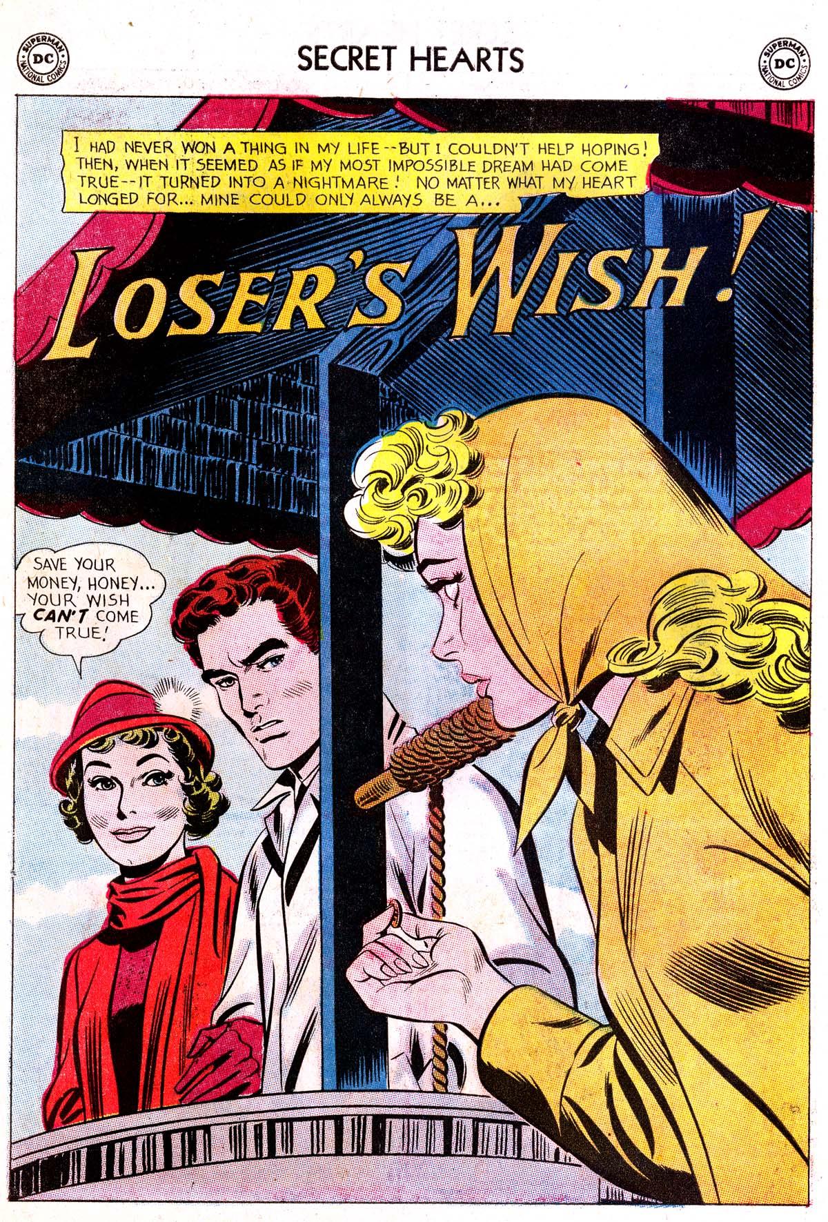 Read online Secret Hearts comic -  Issue #87 - 26