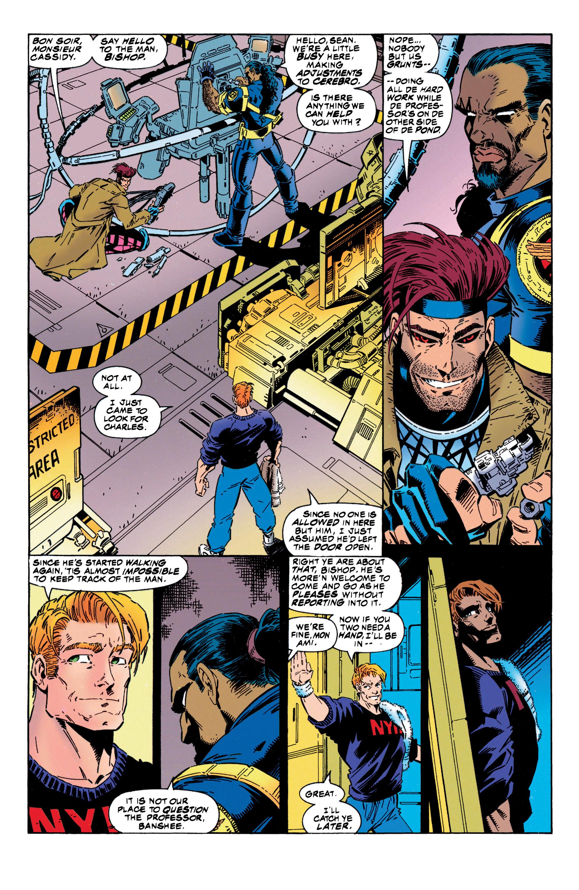 Read online Uncanny X-Men (1963) comic -  Issue #316 - 14