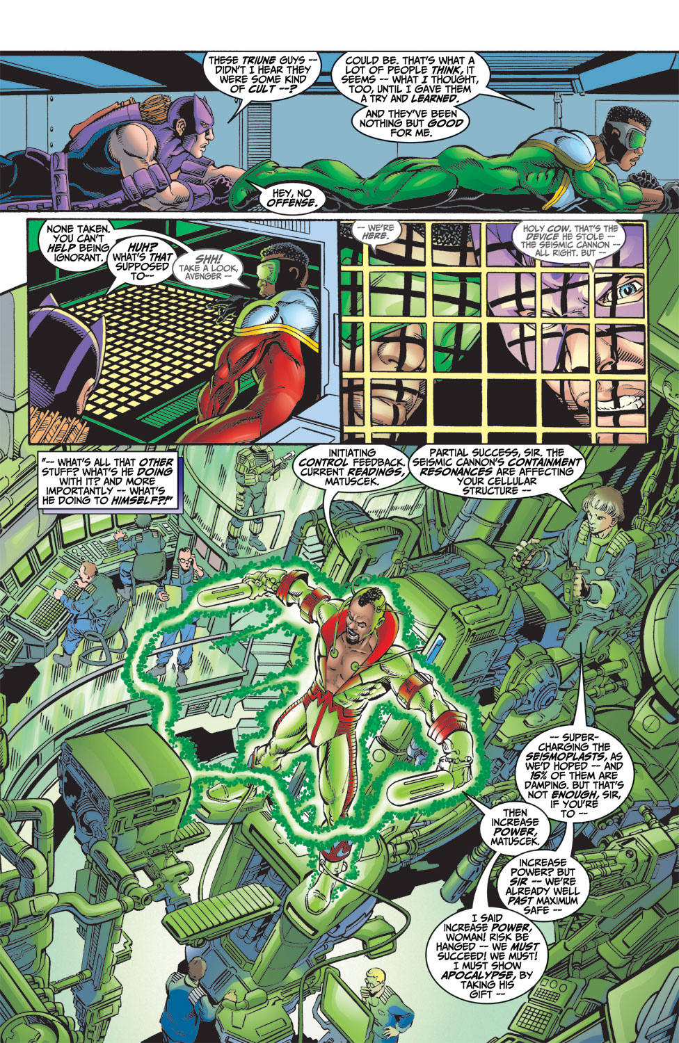 Read online Avengers (1998) comic -  Issue #9 - 11