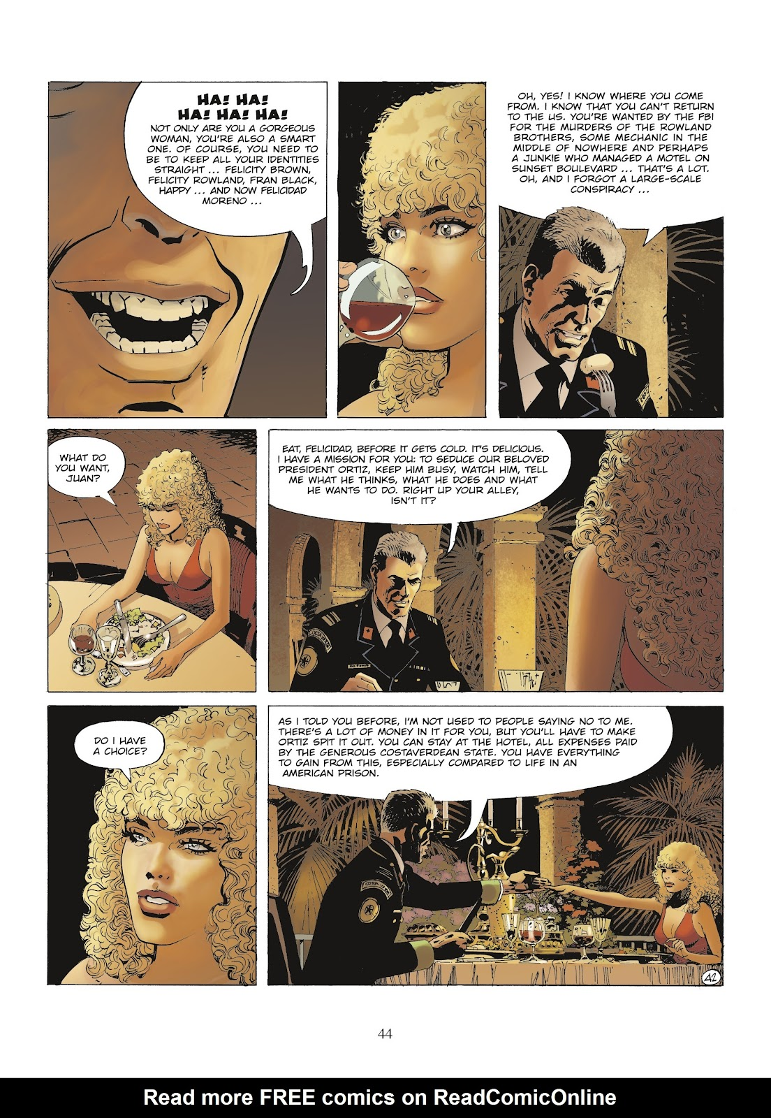 XIII Mystery issue 9 - Page 46