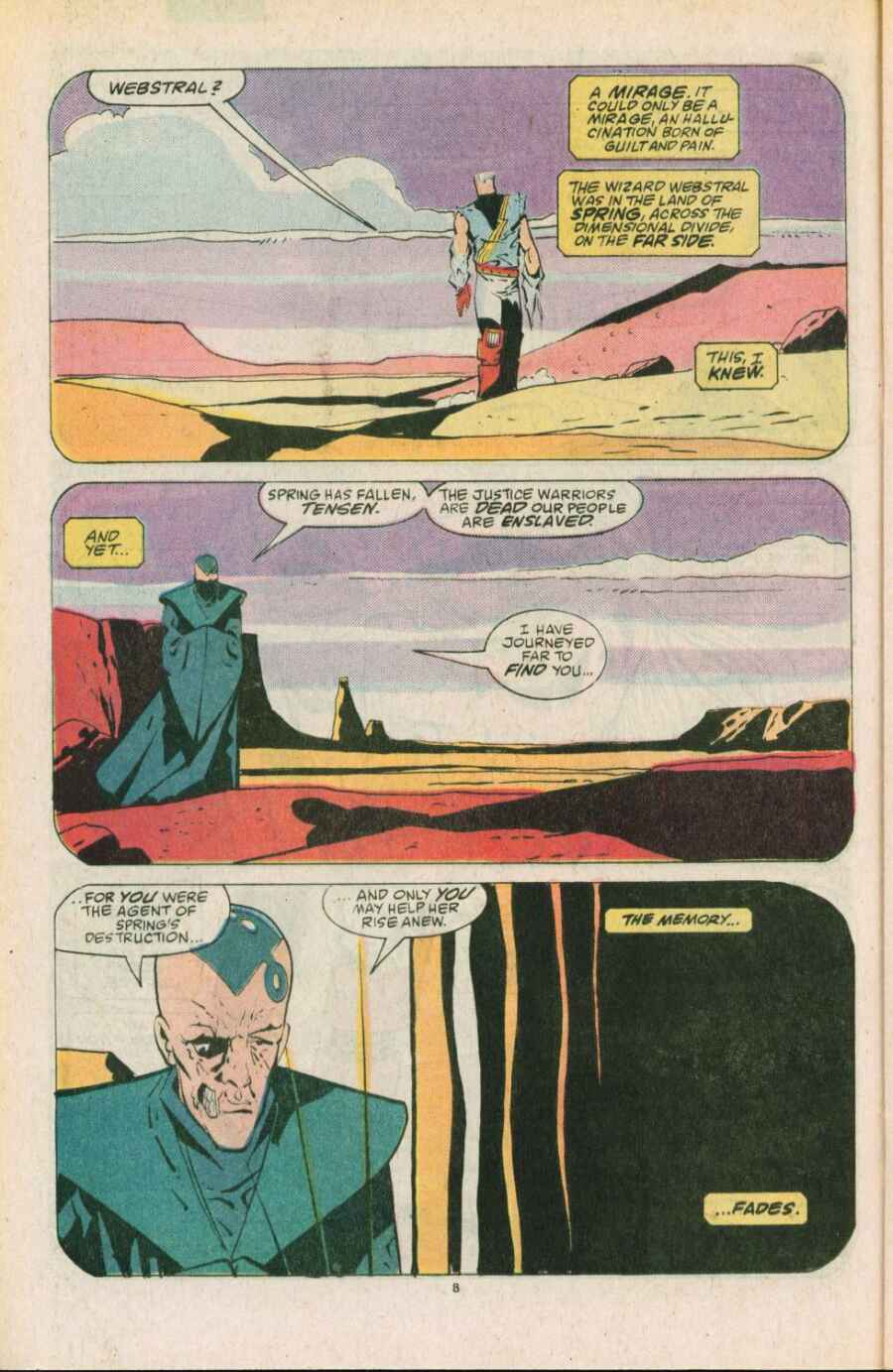 Read online Justice (1986) comic -  Issue #11 - 9