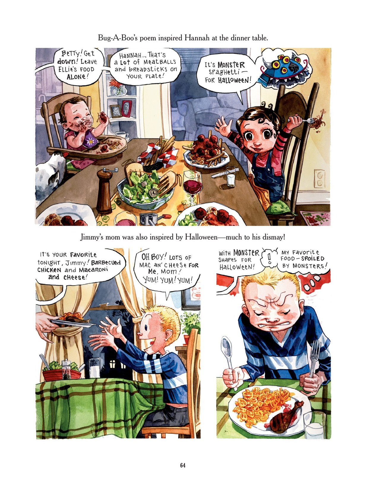 Read online Scary Godmother comic -  Issue # TPB - 64