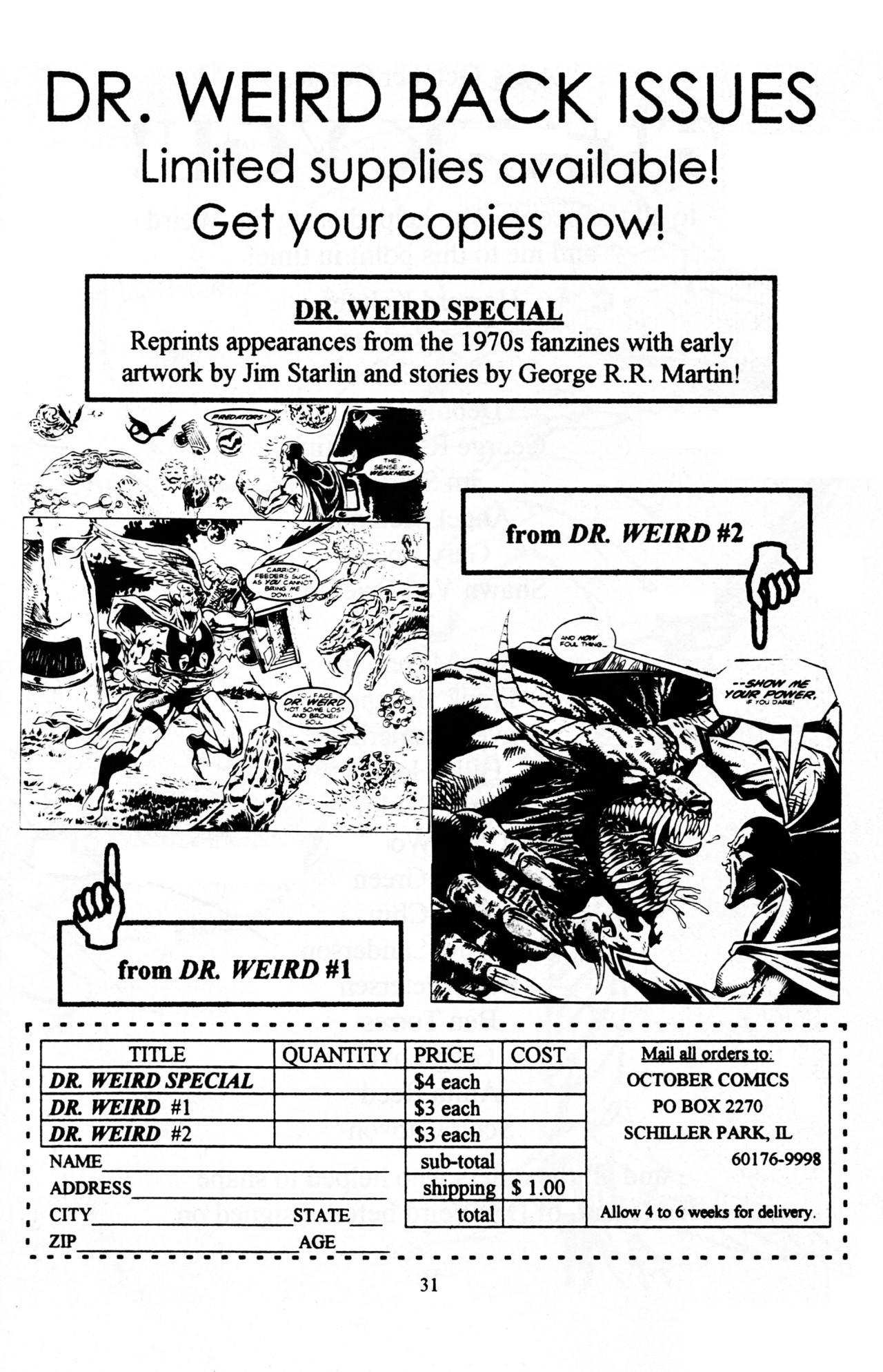 Read online Dr. Weird (1997) comic -  Issue #1 - 33